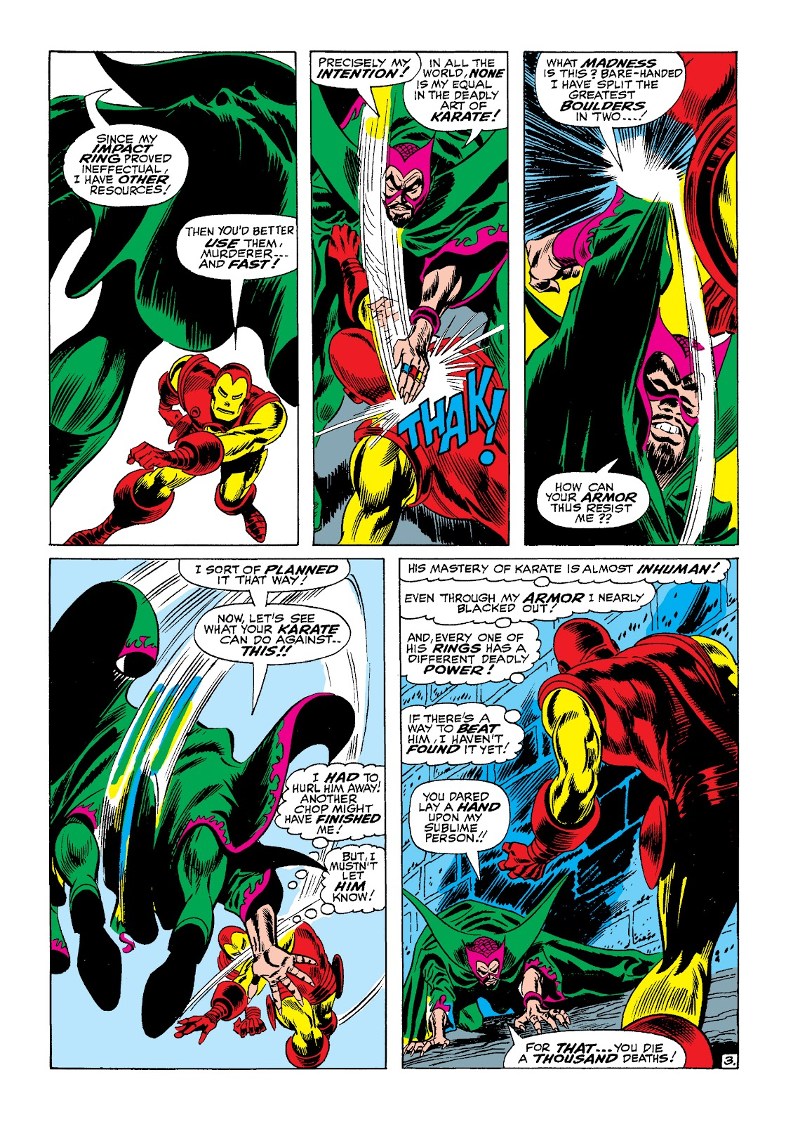 Read online Marvel Masterworks: The Invincible Iron Man comic -  Issue # TPB 4 (Part 1) - 35