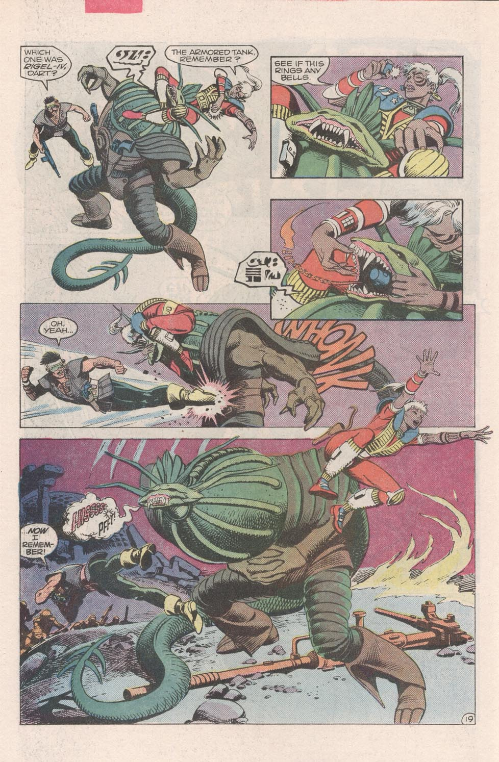 Read online Atari Force (1984) comic -  Issue #2 - 21