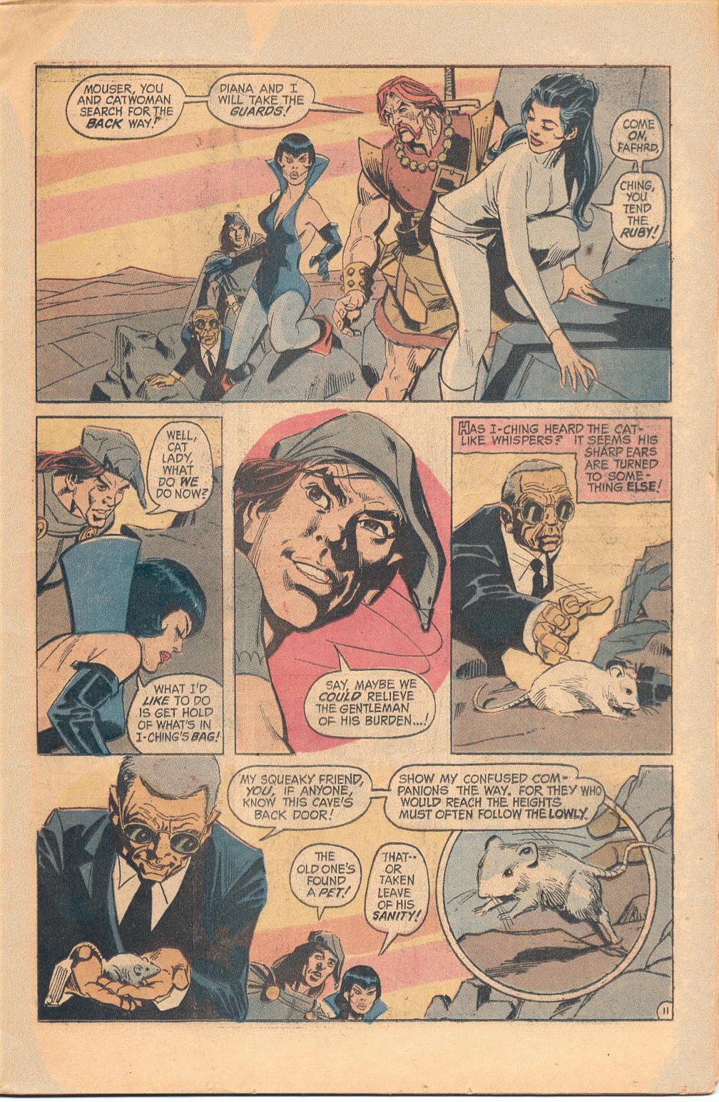 Read online Wonder Woman (1942) comic -  Issue #202 - 12
