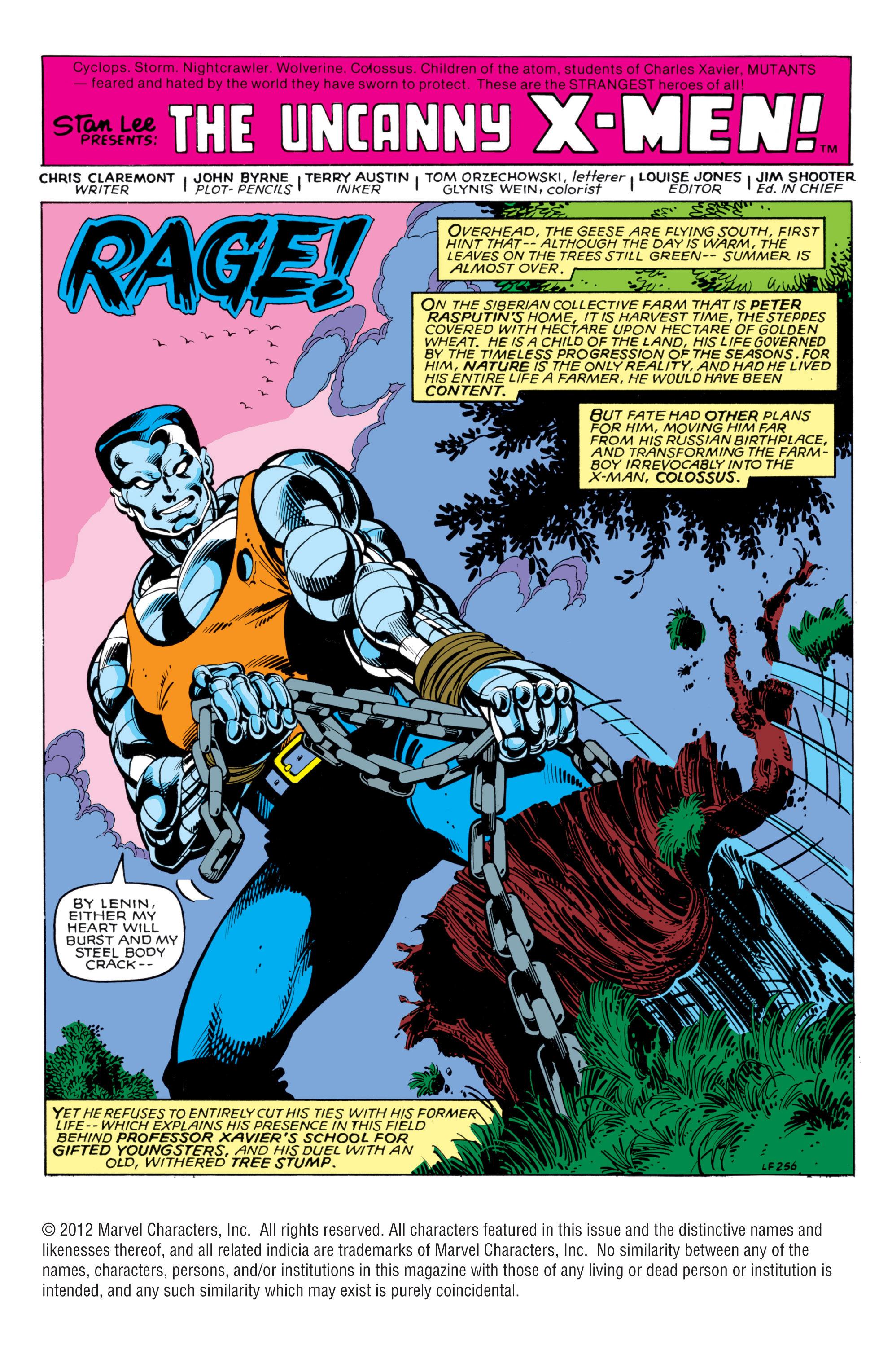 Read online Uncanny X-Men (1963) comic -  Issue #140 - 2