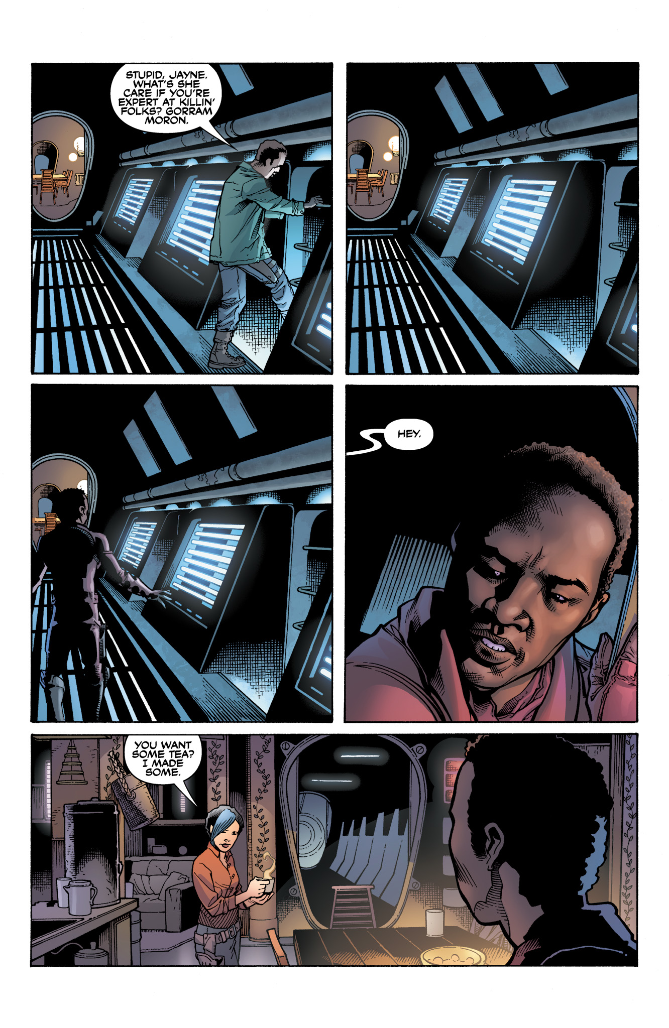 Read online Serenity: Firefly Class 03-K64  Leaves on the Wind comic -  Issue #3 - 12