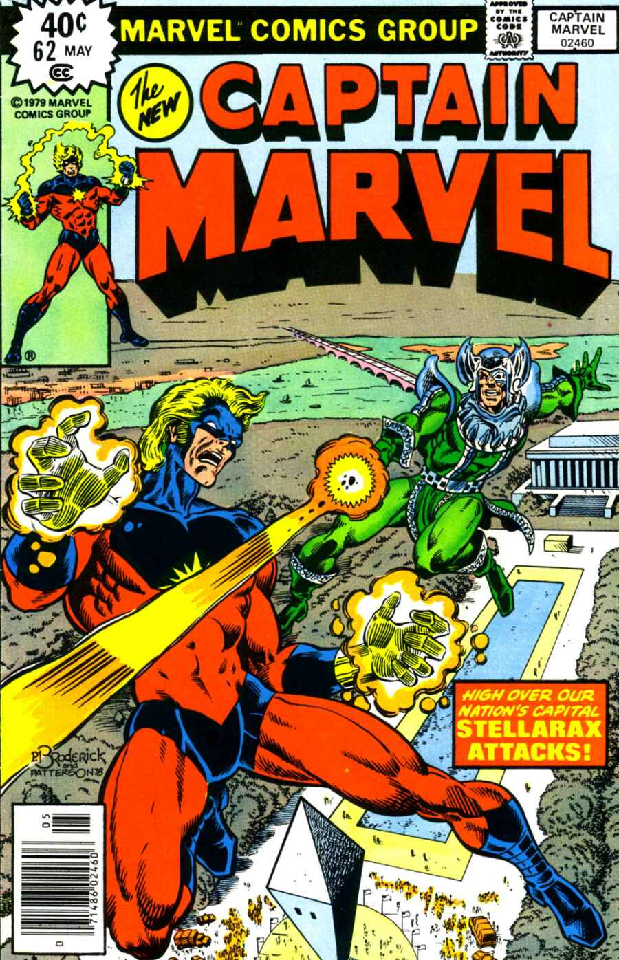 Captain Marvel (1968) issue 62 - Page 1