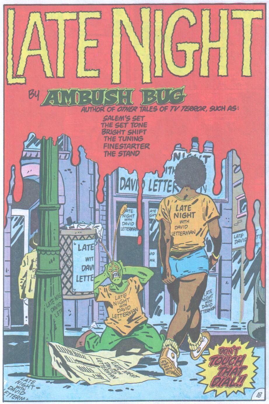 Read online Ambush Bug comic -  Issue #1 - 19