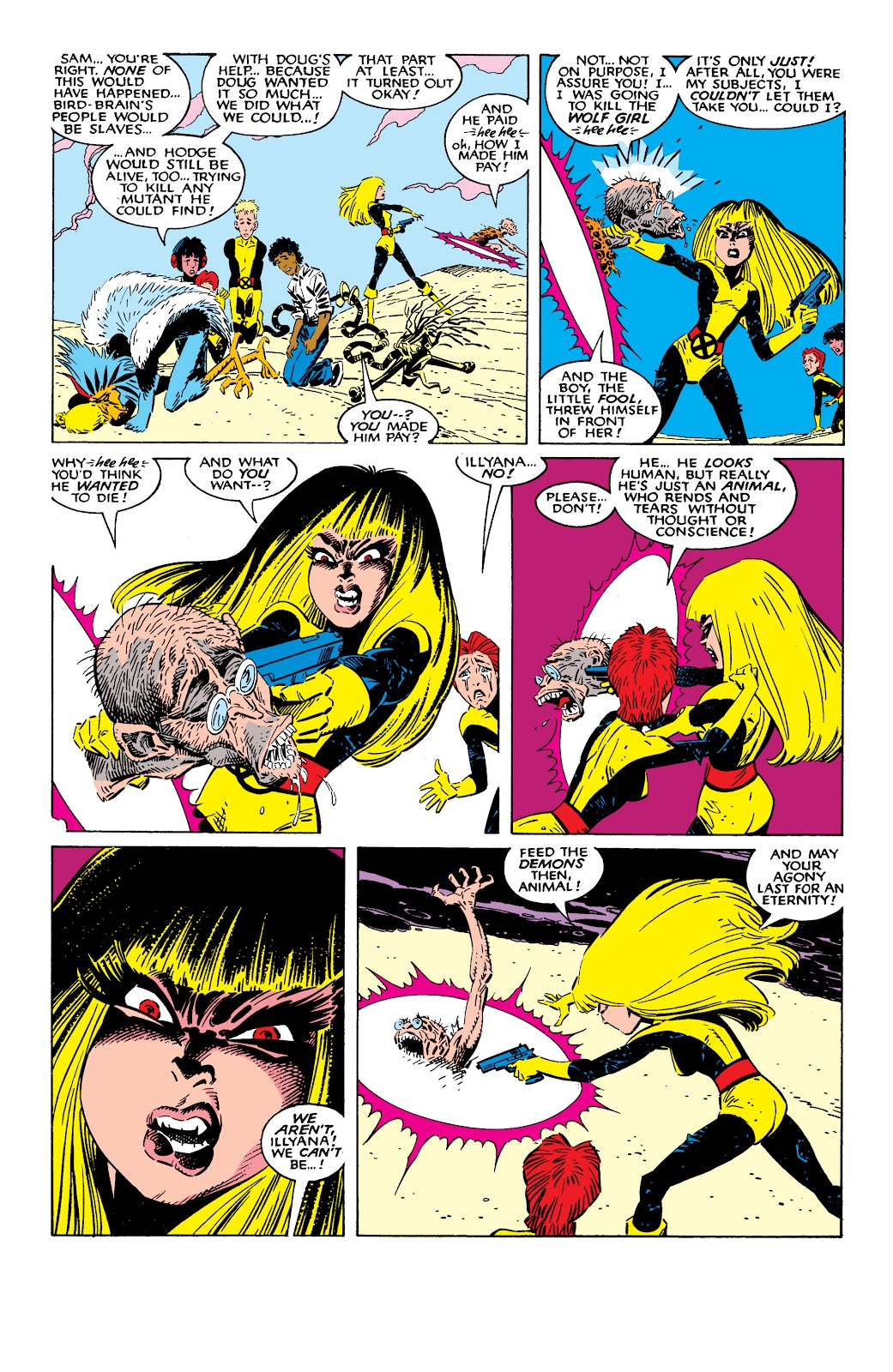 Read online X-Men Milestones: Fall of the Mutants comic -  Issue # TPB (Part 2) - 55