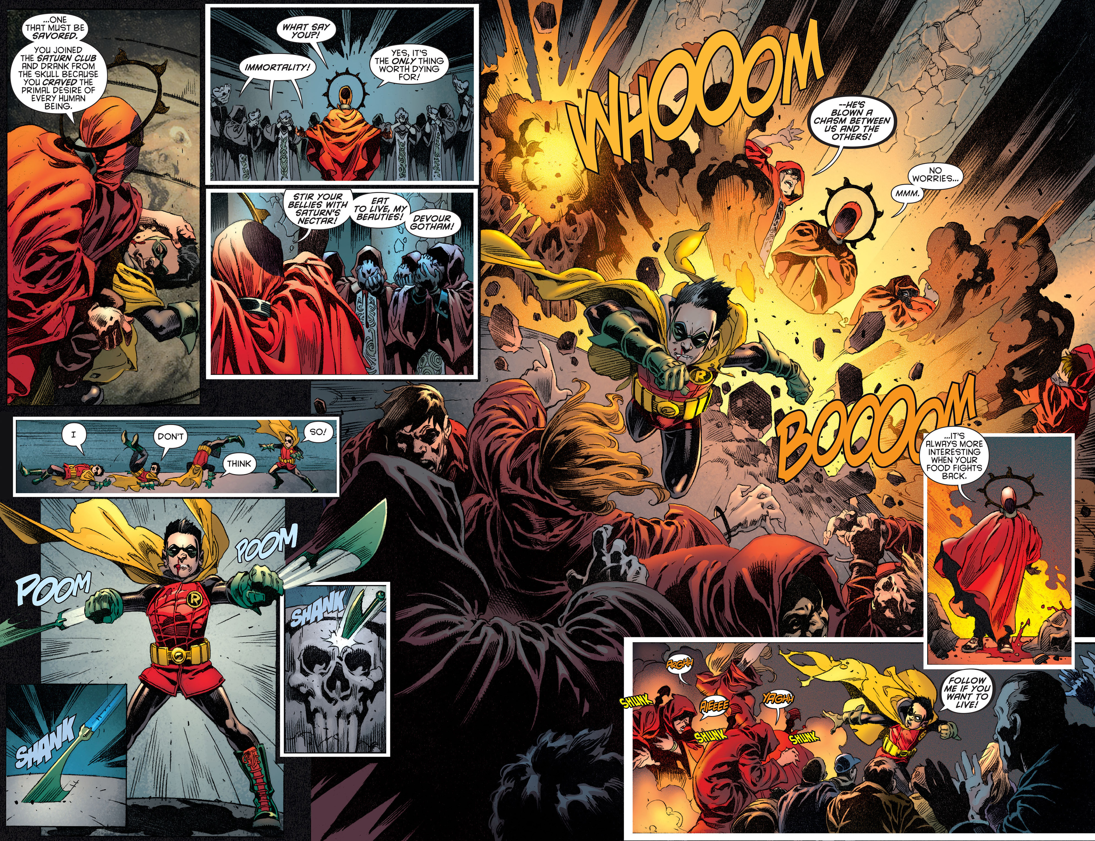 Read online Batman and Robin (2011) comic -  Issue #14 - 9