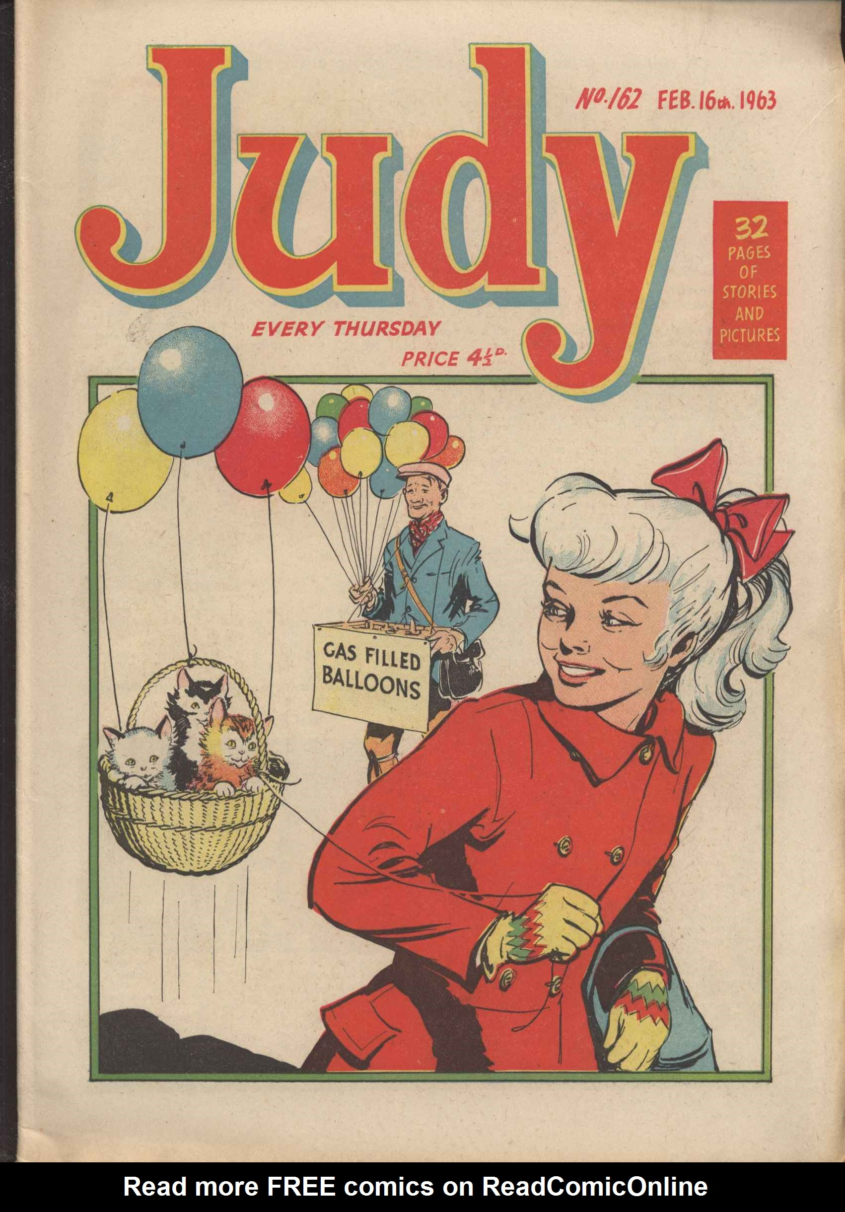 Read online Judy comic -  Issue #162 - 1