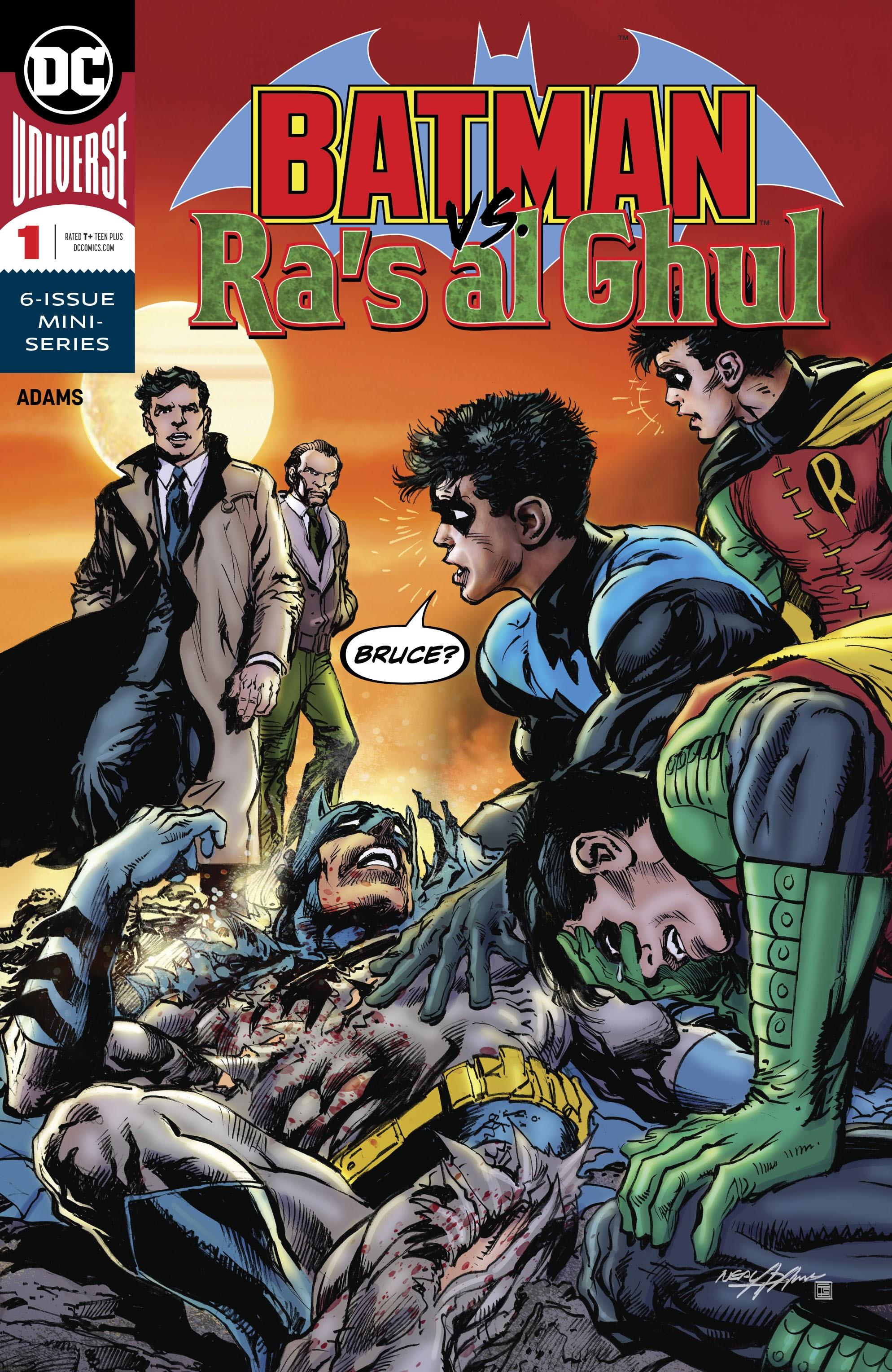 Batman Vs. Ra's al Ghul issue 1 - Page 1