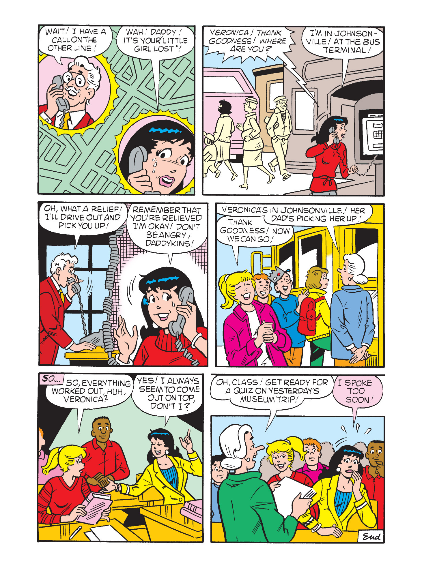 Read online Archie's Funhouse Double Digest comic -  Issue #3 - 23