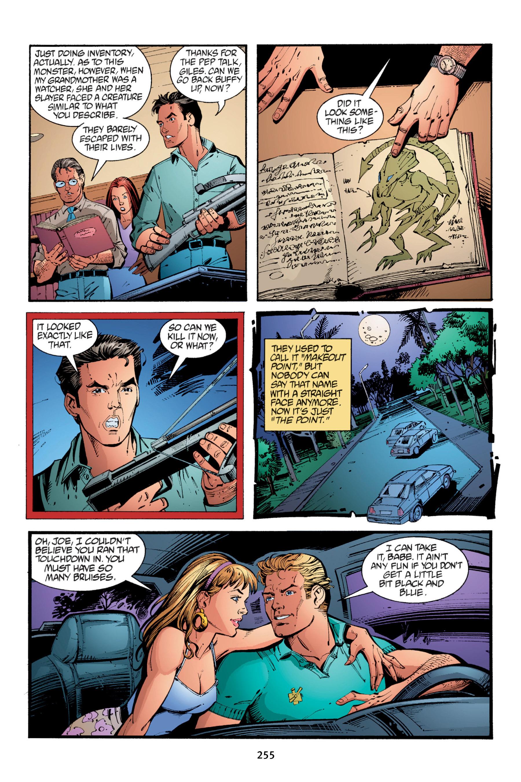 Read online Buffy the Vampire Slayer: Omnibus comic -  Issue # TPB 4 - 253