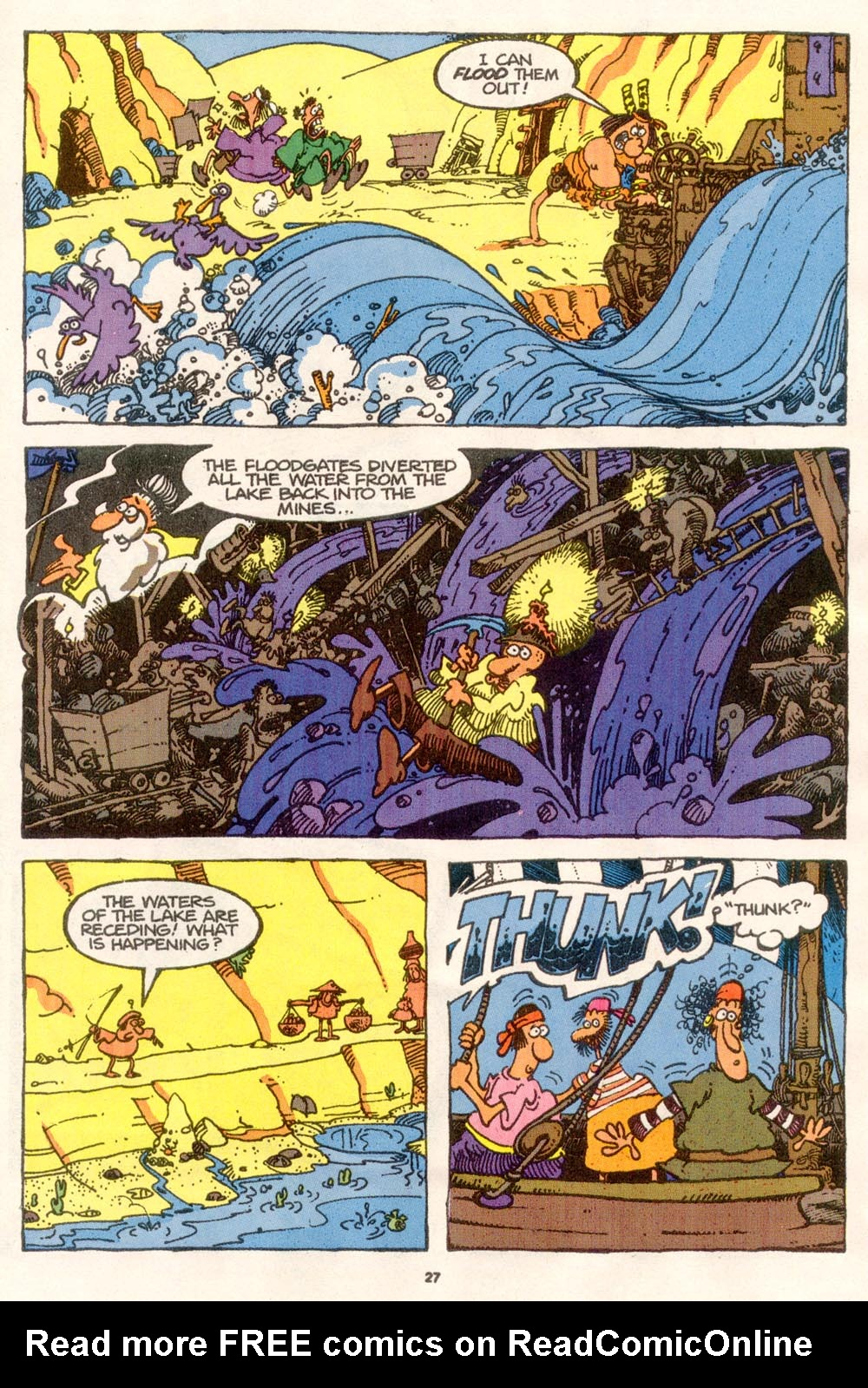 Read online Sergio Aragonés Groo the Wanderer comic -  Issue #76 - 21