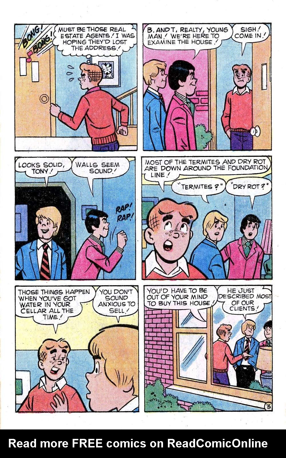 Read online Archie (1960) comic -  Issue #281 - 5