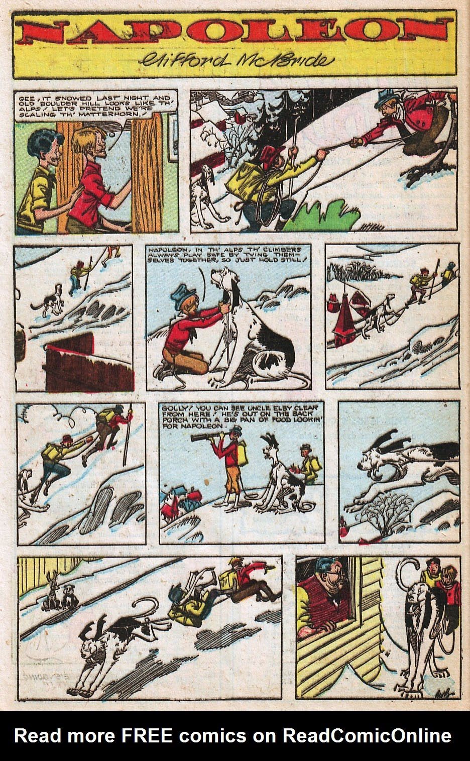 Read online Famous Funnies comic -  Issue #192 - 40