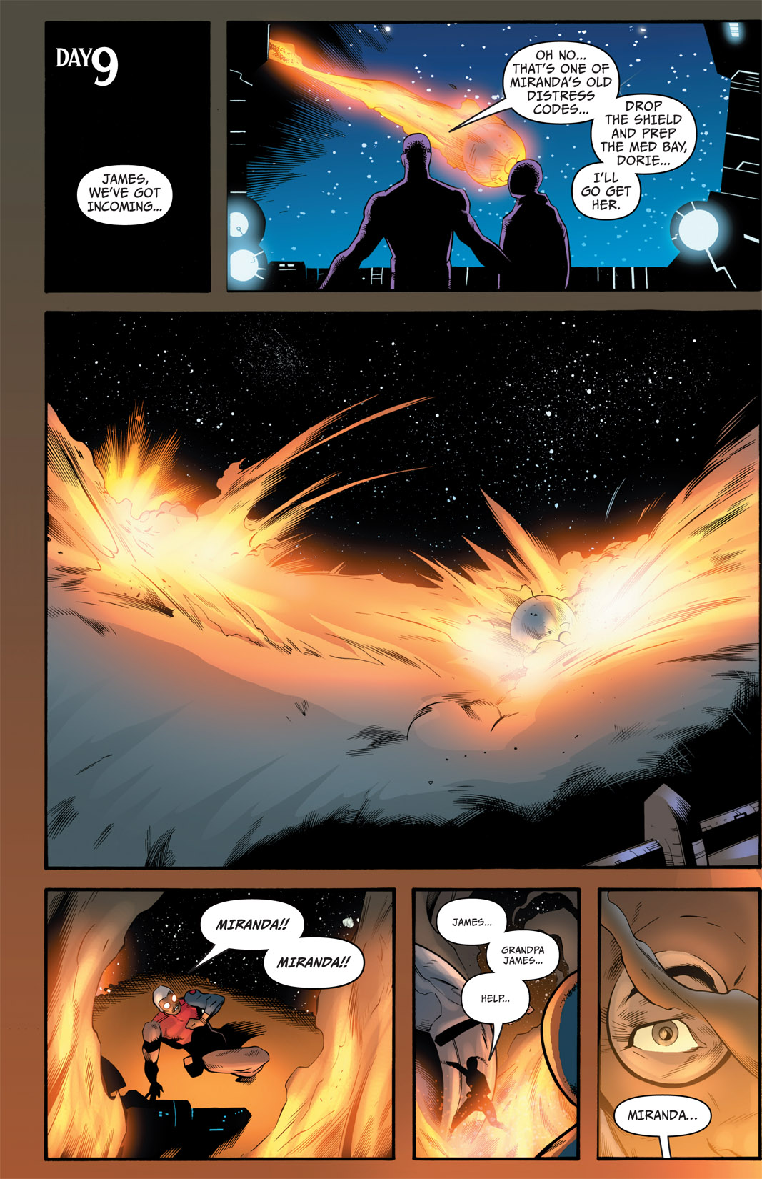 Read online The Many Adventures of Miranda Mercury: Time Runs Out comic -  Issue # TPB - 167