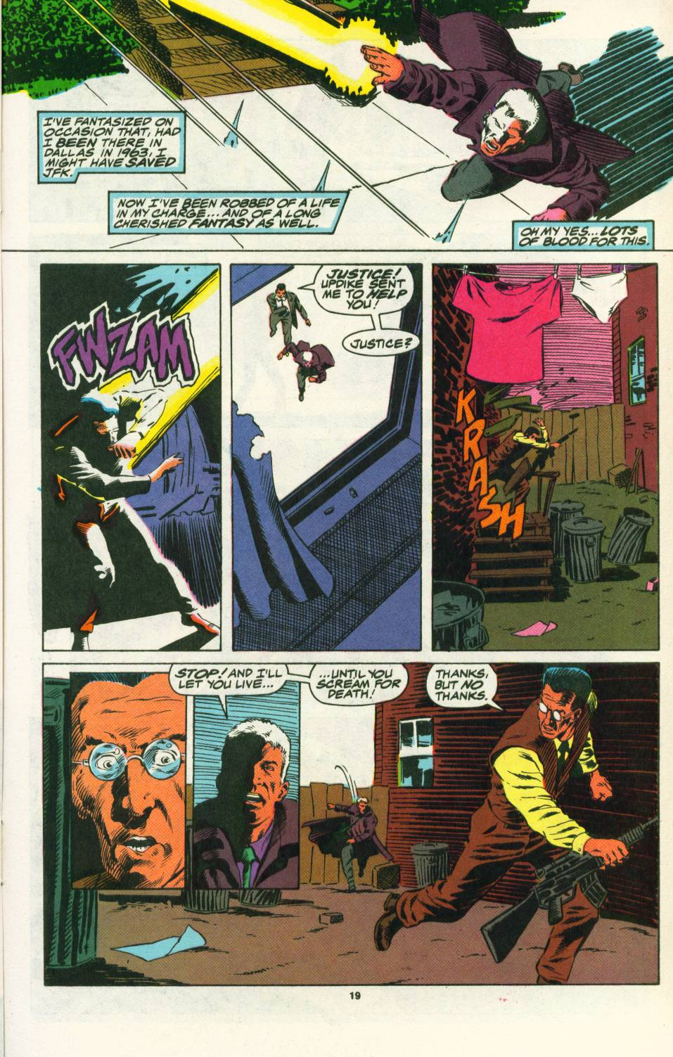 Read online Justice (1986) comic -  Issue #25 - 21