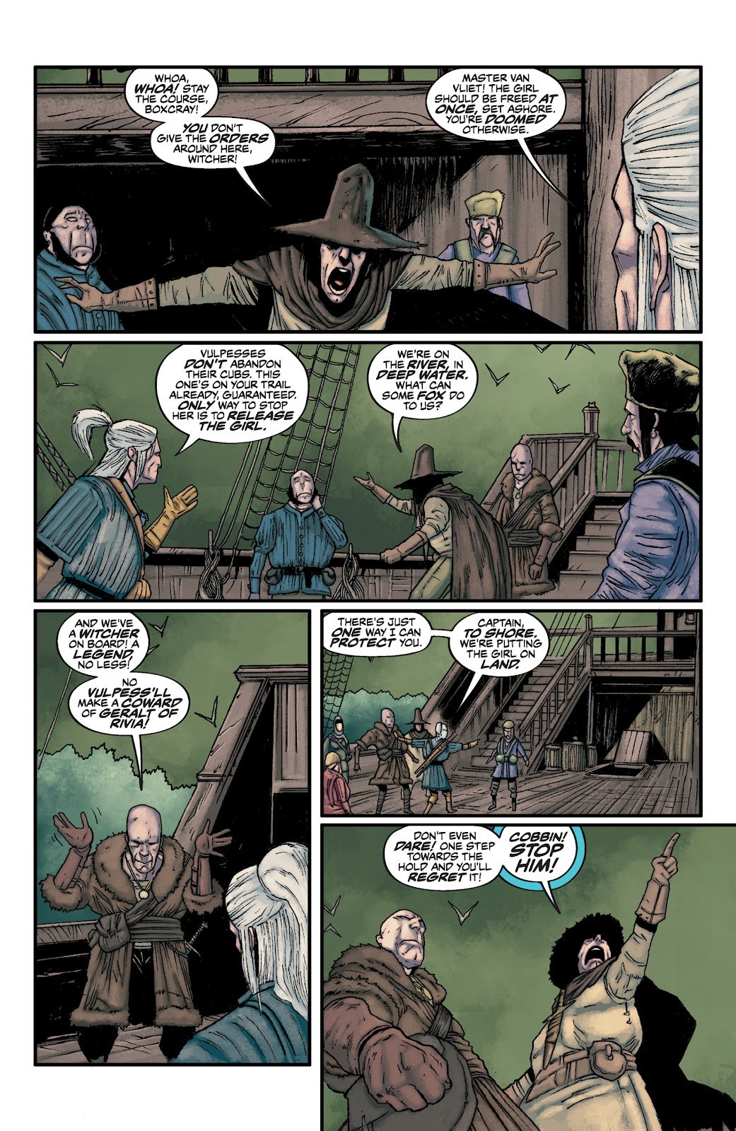 Read online The Witcher Omnibus comic -  Issue # TPB (Part 2) - 46