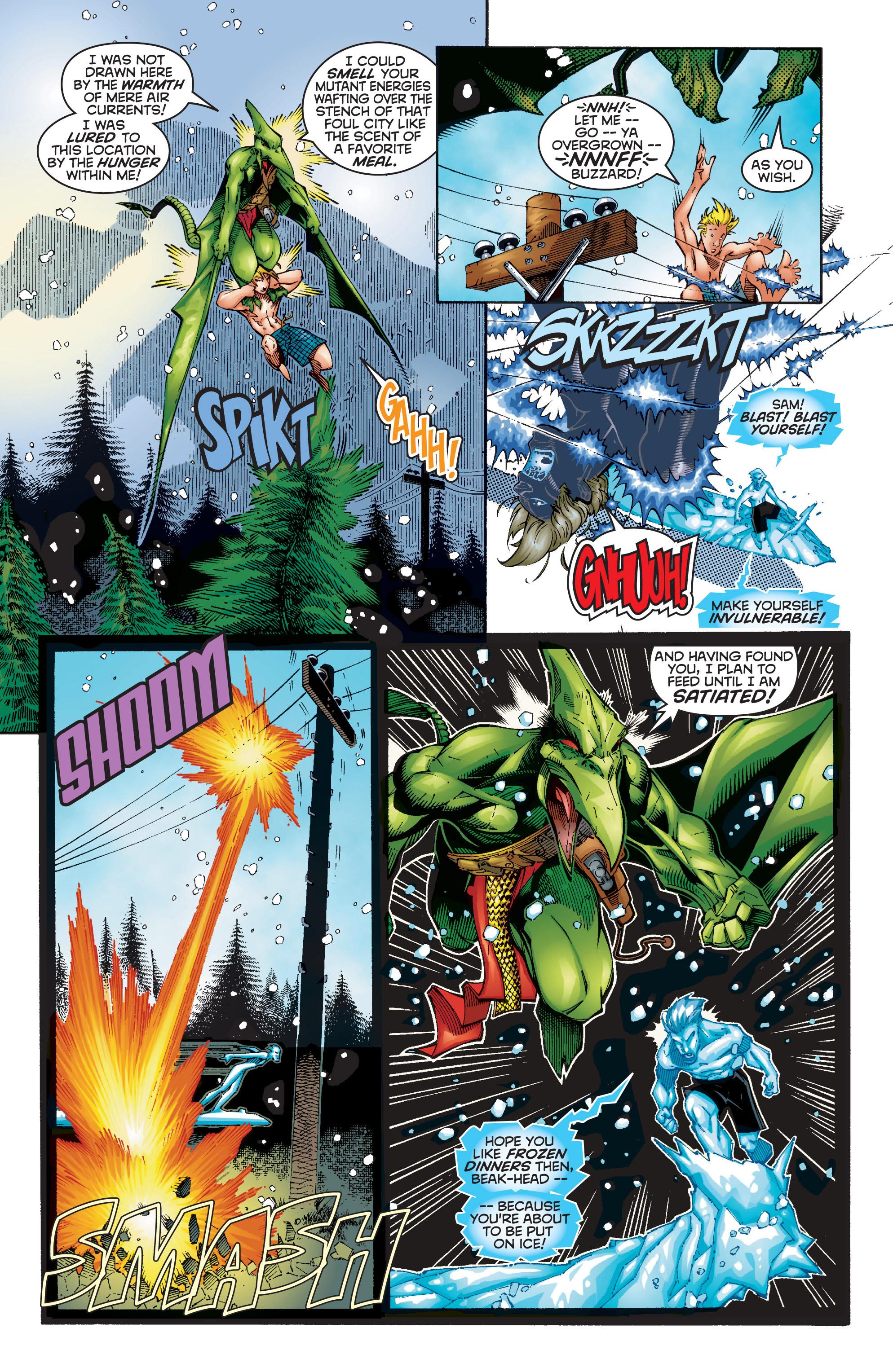 Read online Uncanny X-Men (1963) comic -  Issue #354 - 4