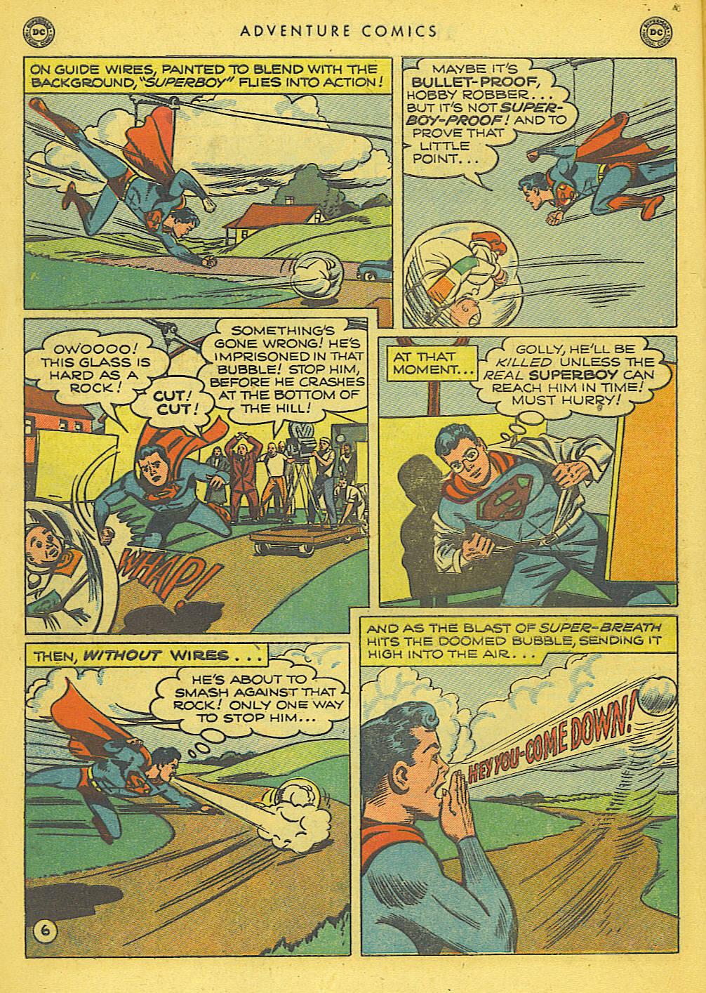 Read online Adventure Comics (1938) comic -  Issue #155 - 8
