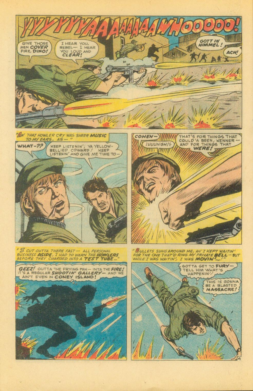 Read online Sgt. Fury comic -  Issue #86 - 20