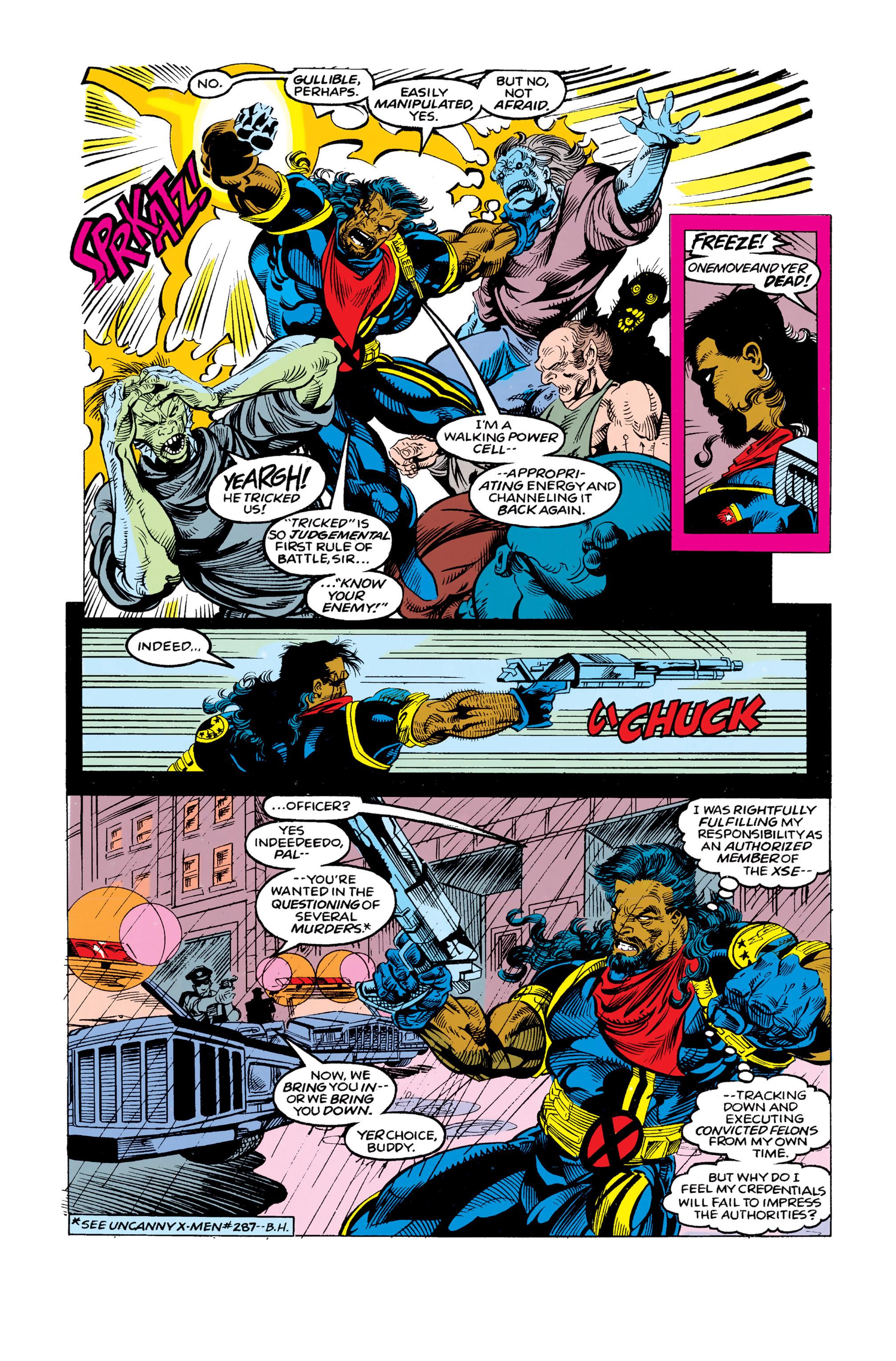 Read online Uncanny X-Men (1963) comic -  Issue #292 - 12