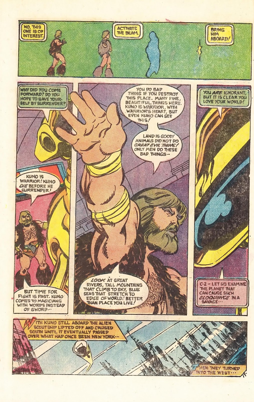 Read online Doomsday   1 (1975) comic -  Issue #3 - 25