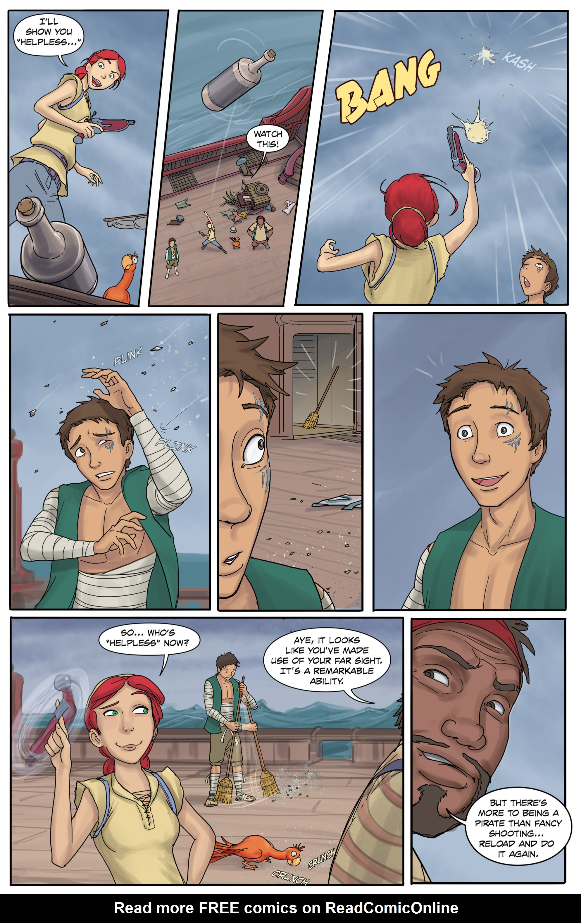 Read online Anne Bonnie comic -  Issue #3 - 6