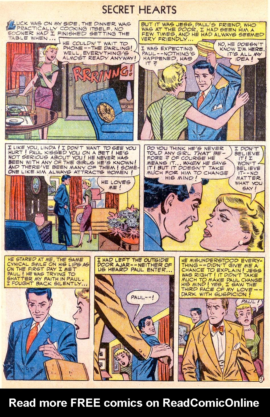 Read online Secret Hearts comic -  Issue #11 - 32