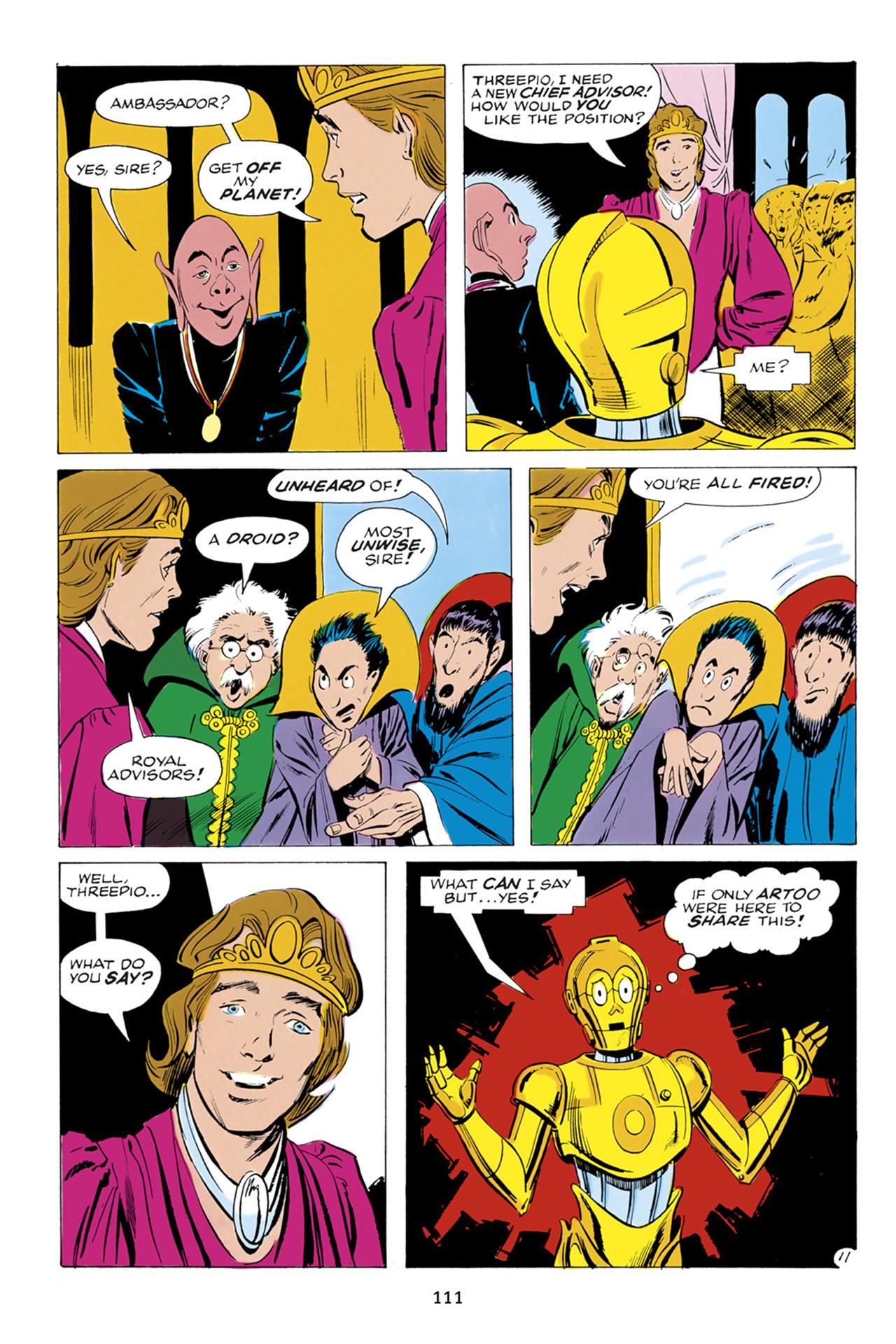 Read online Star Wars Omnibus comic -  Issue # Vol. 23 - 110