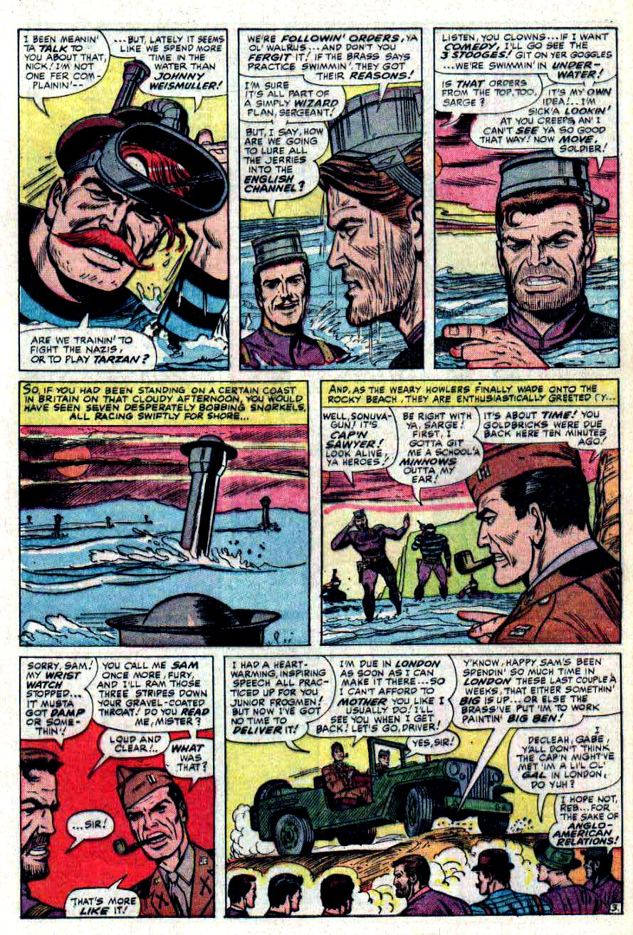Read online Sgt. Fury comic -  Issue #31 - 5