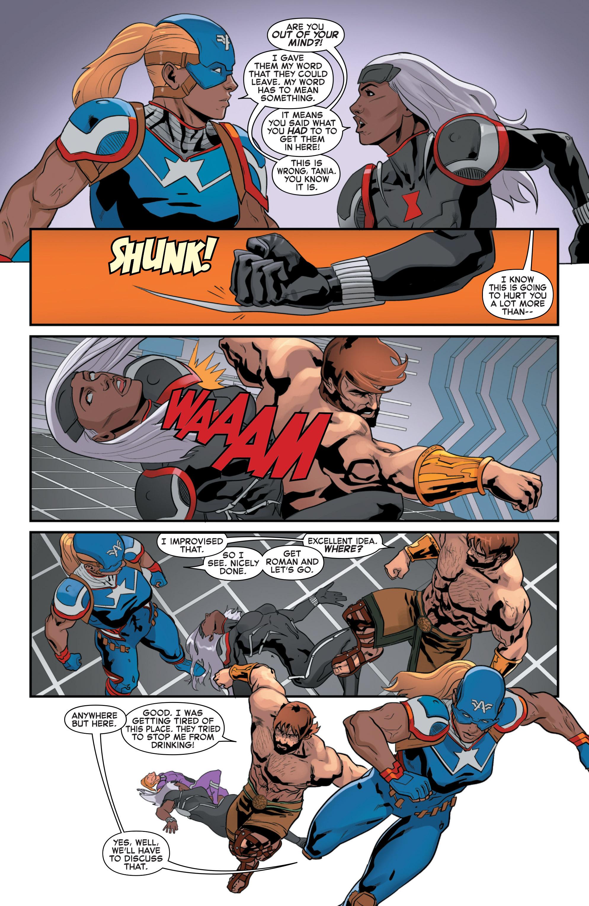 Read online Secret Wars 2099 comic -  Issue #4 - 10