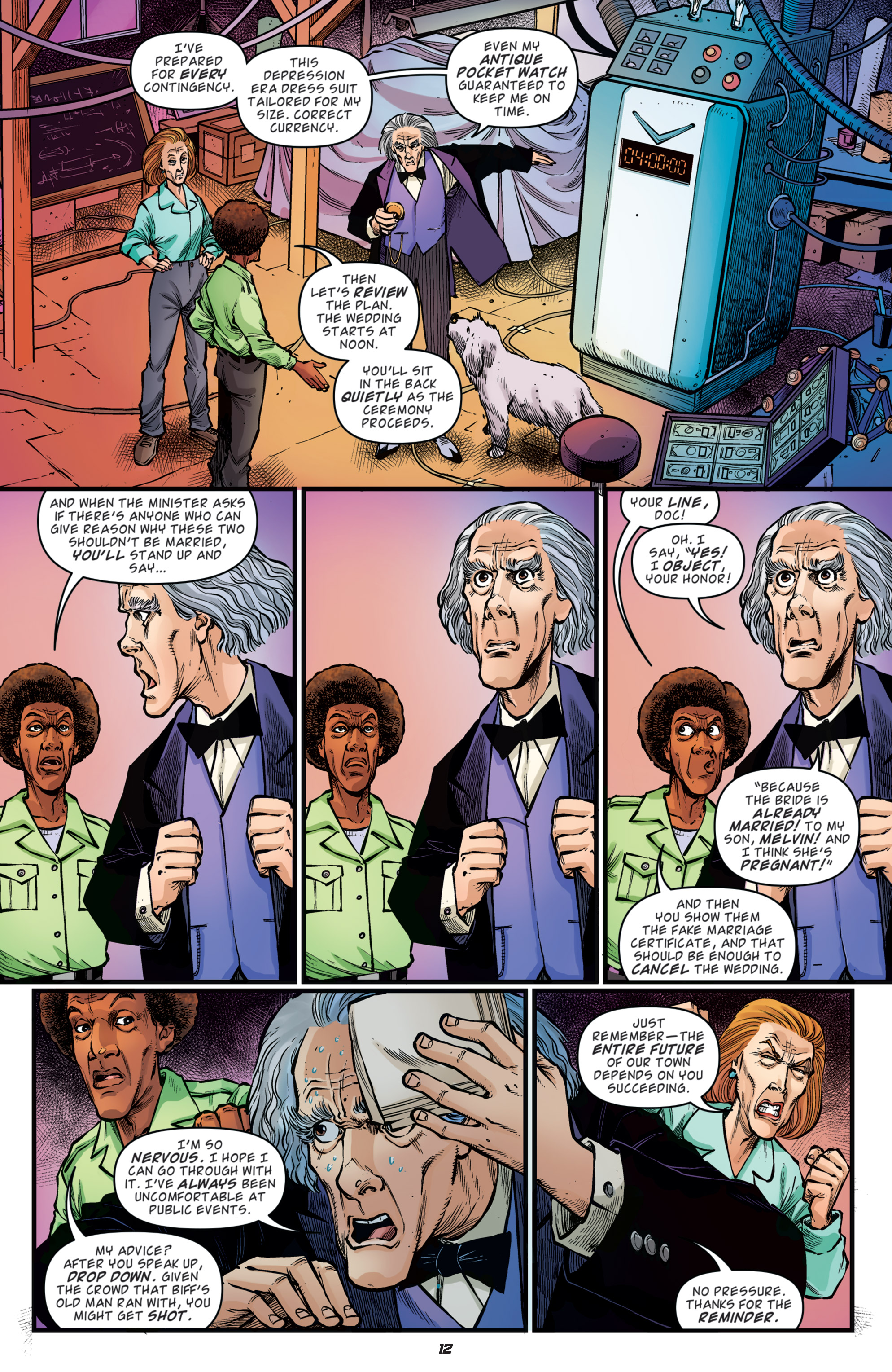 Read online Back to the Future: Biff to the Future comic -  Issue #5 - 14