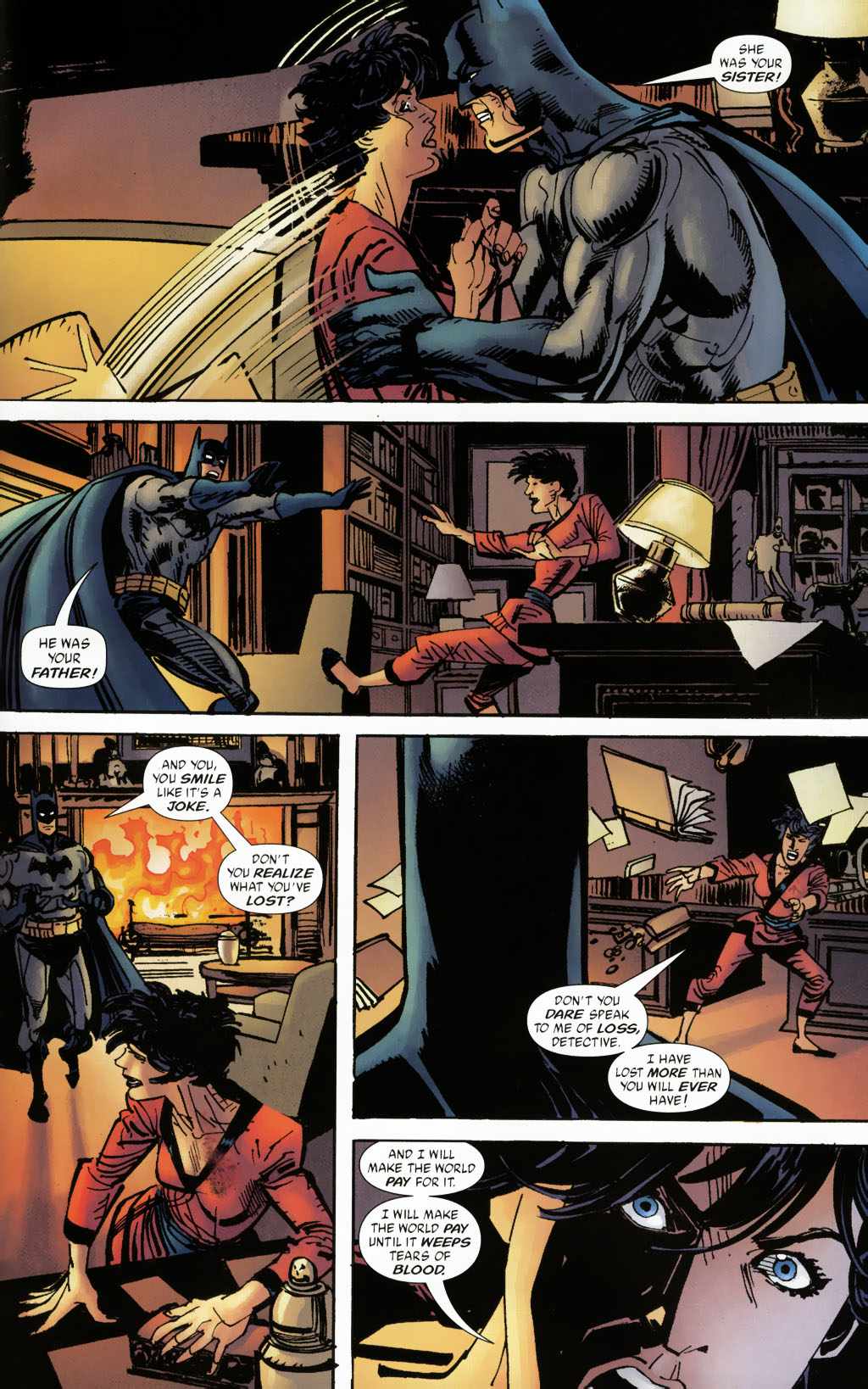 Read online Batman: Death and the Maidens comic -  Issue #9 - 17