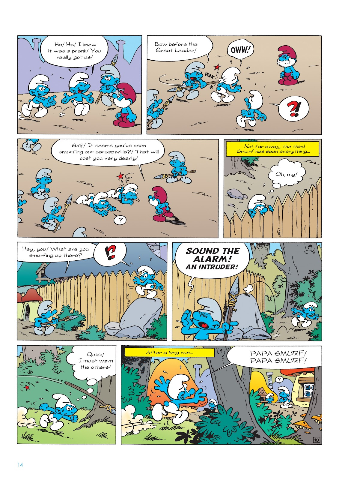 Read online The Smurfs comic -  Issue #22 - 15