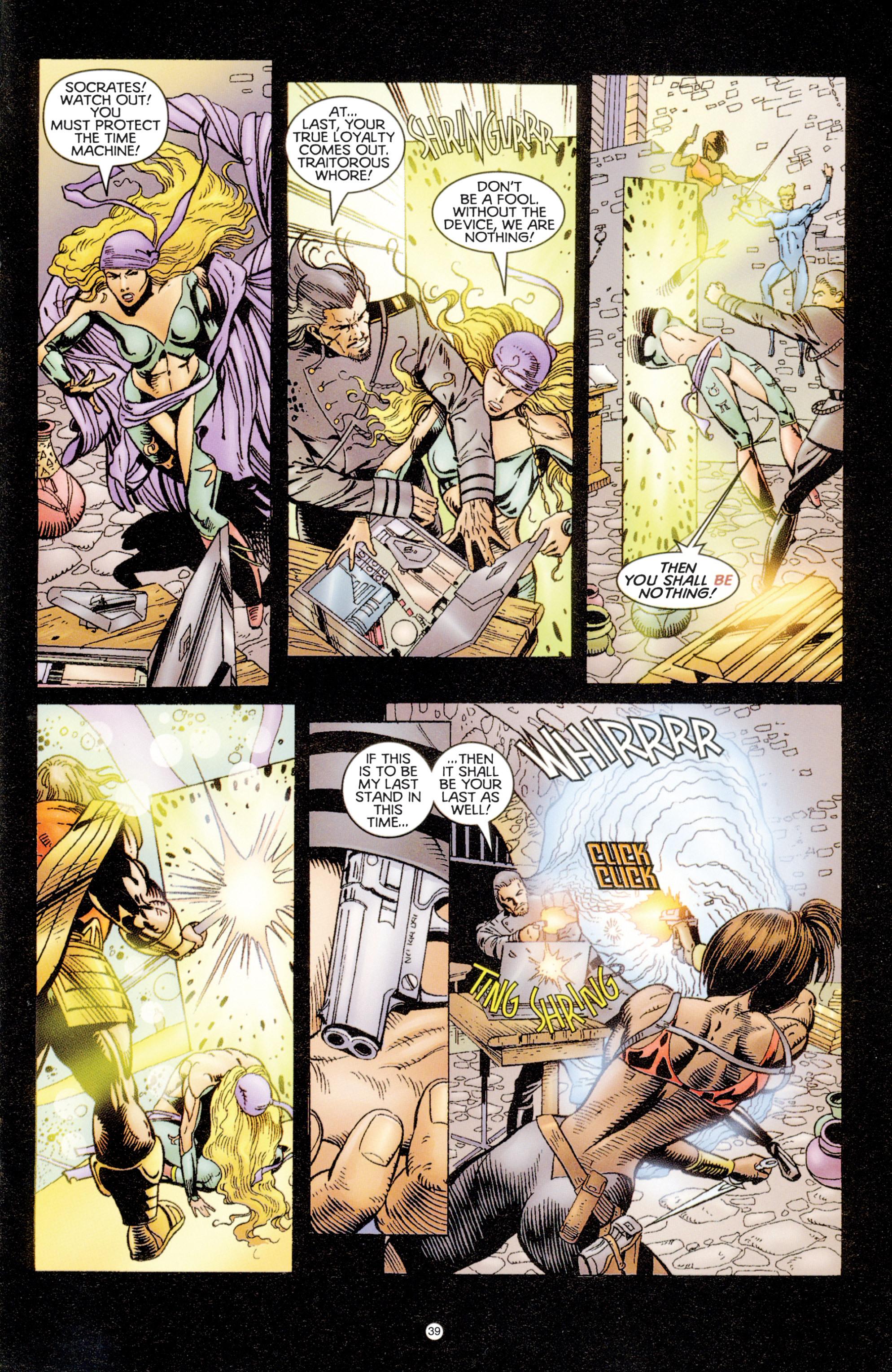 Read online Eternal Warriors comic -  Issue # Issue Digital Alchemy - 36