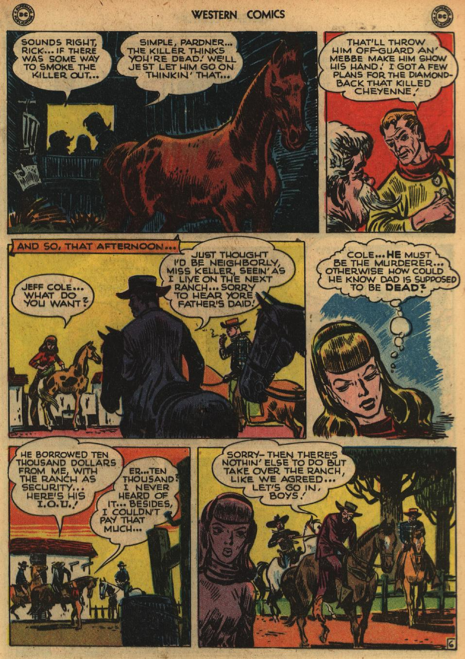 Western Comics issue 1 - Page 19