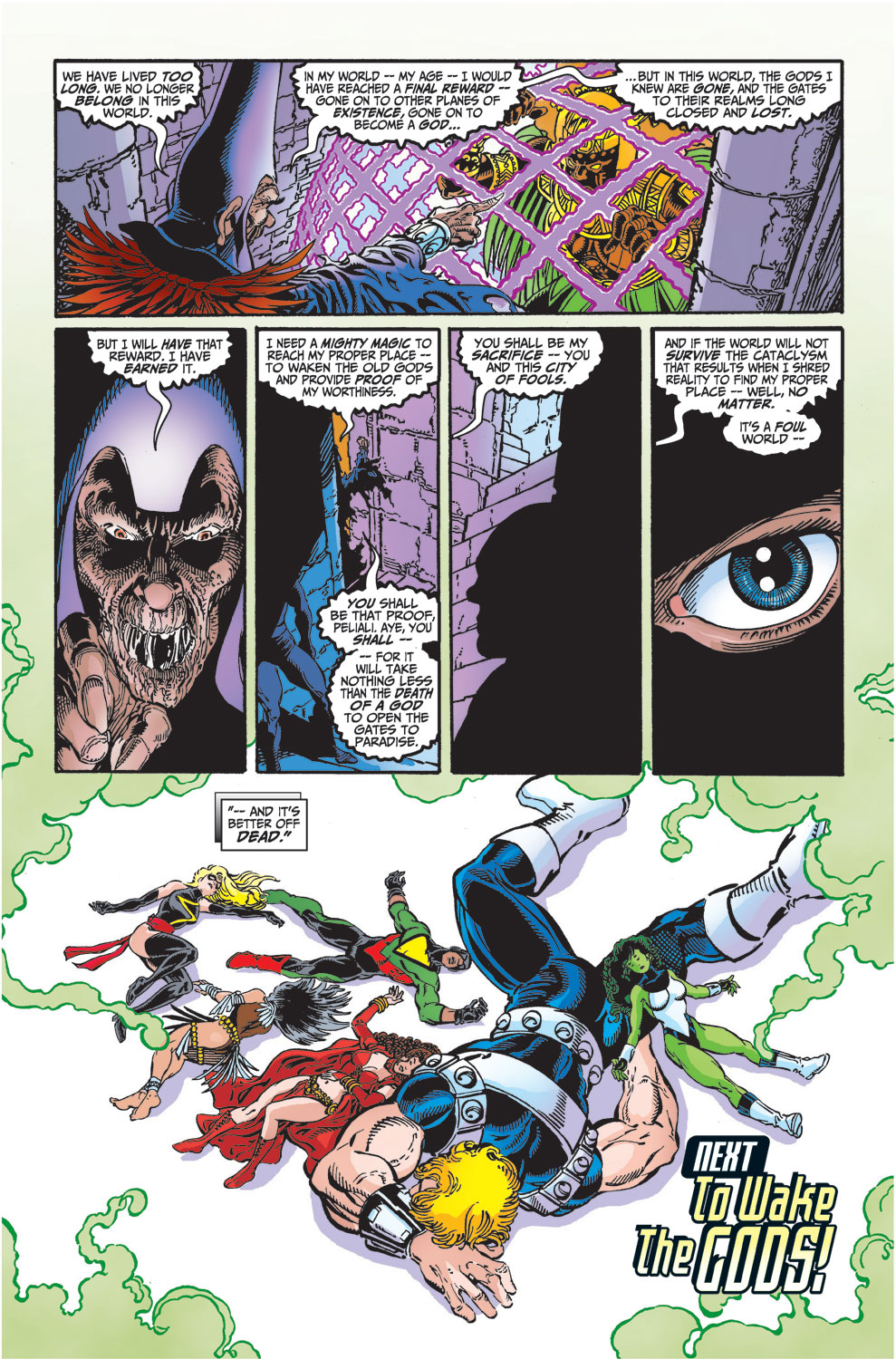 Read online Avengers (1998) comic -  Issue #29 - 22
