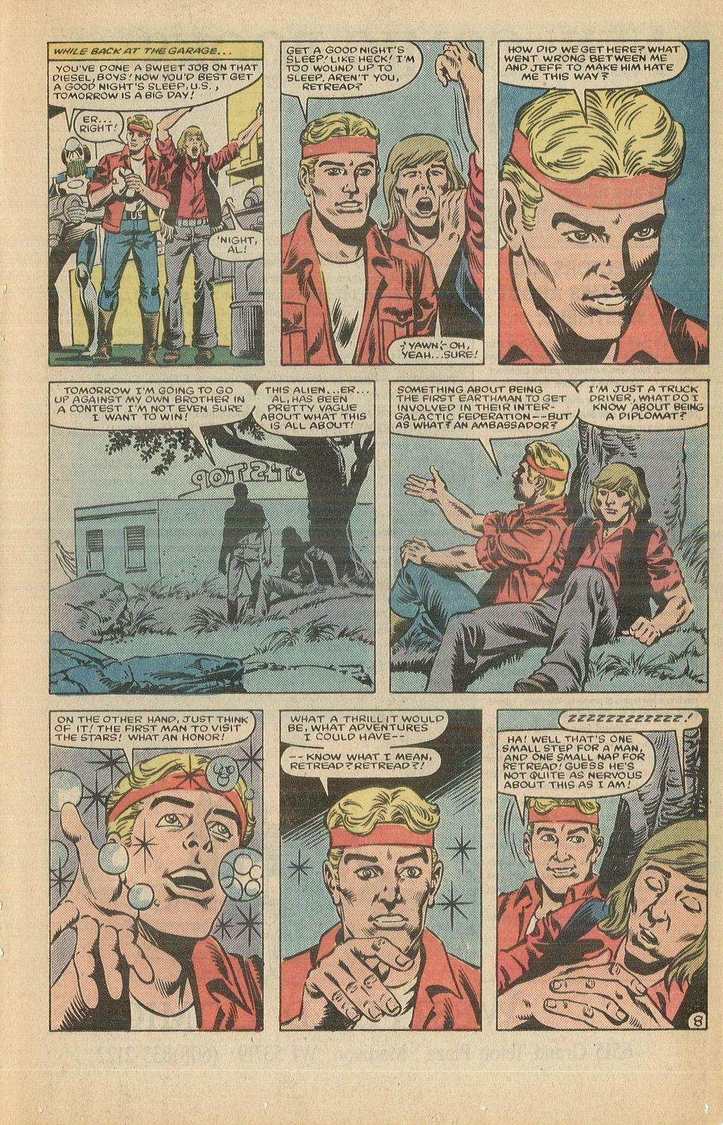 Read online U.S. 1 comic -  Issue #12 - 13