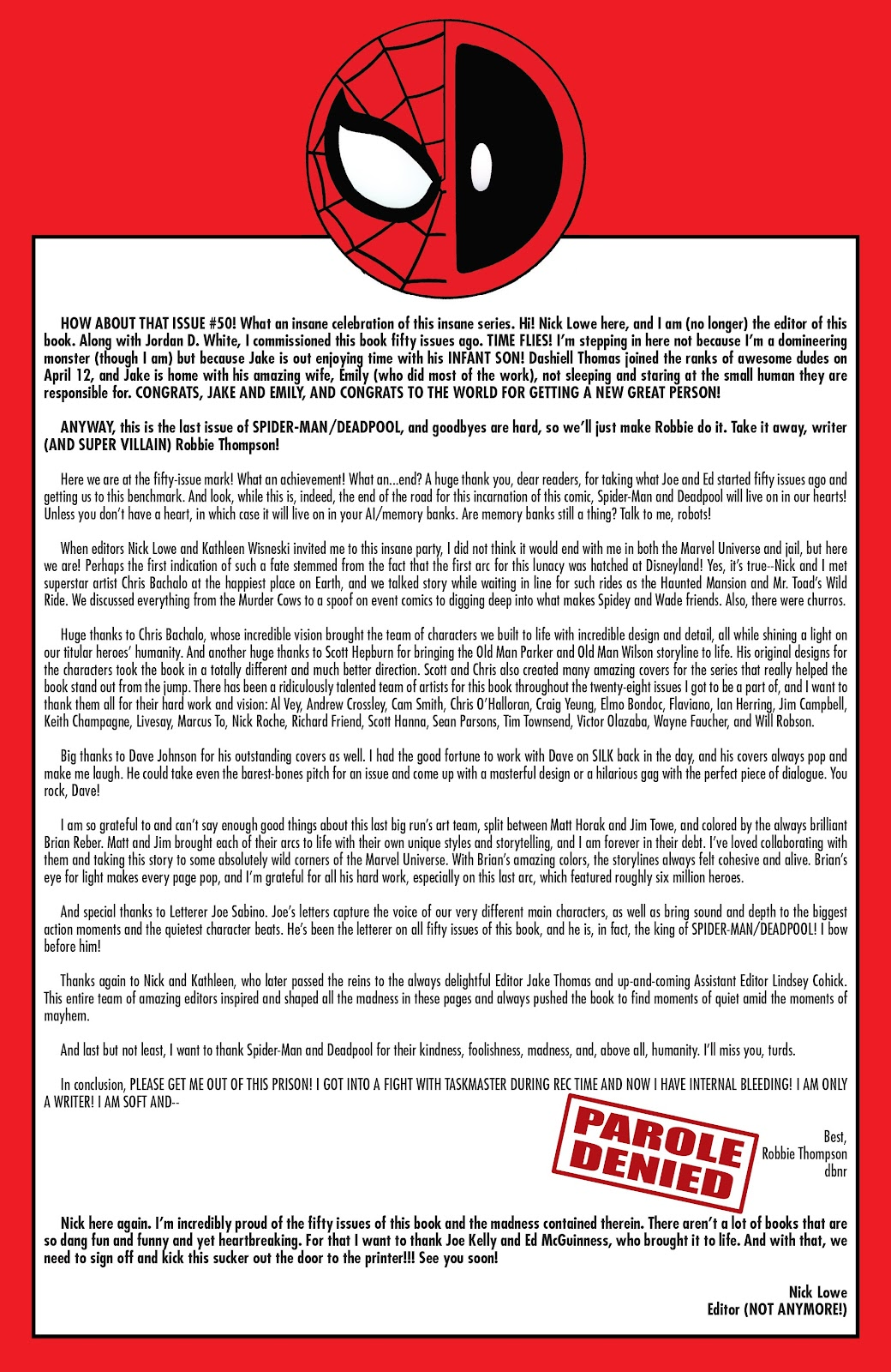 Read online Spider-Man/Deadpool comic -  Issue #50 - 30