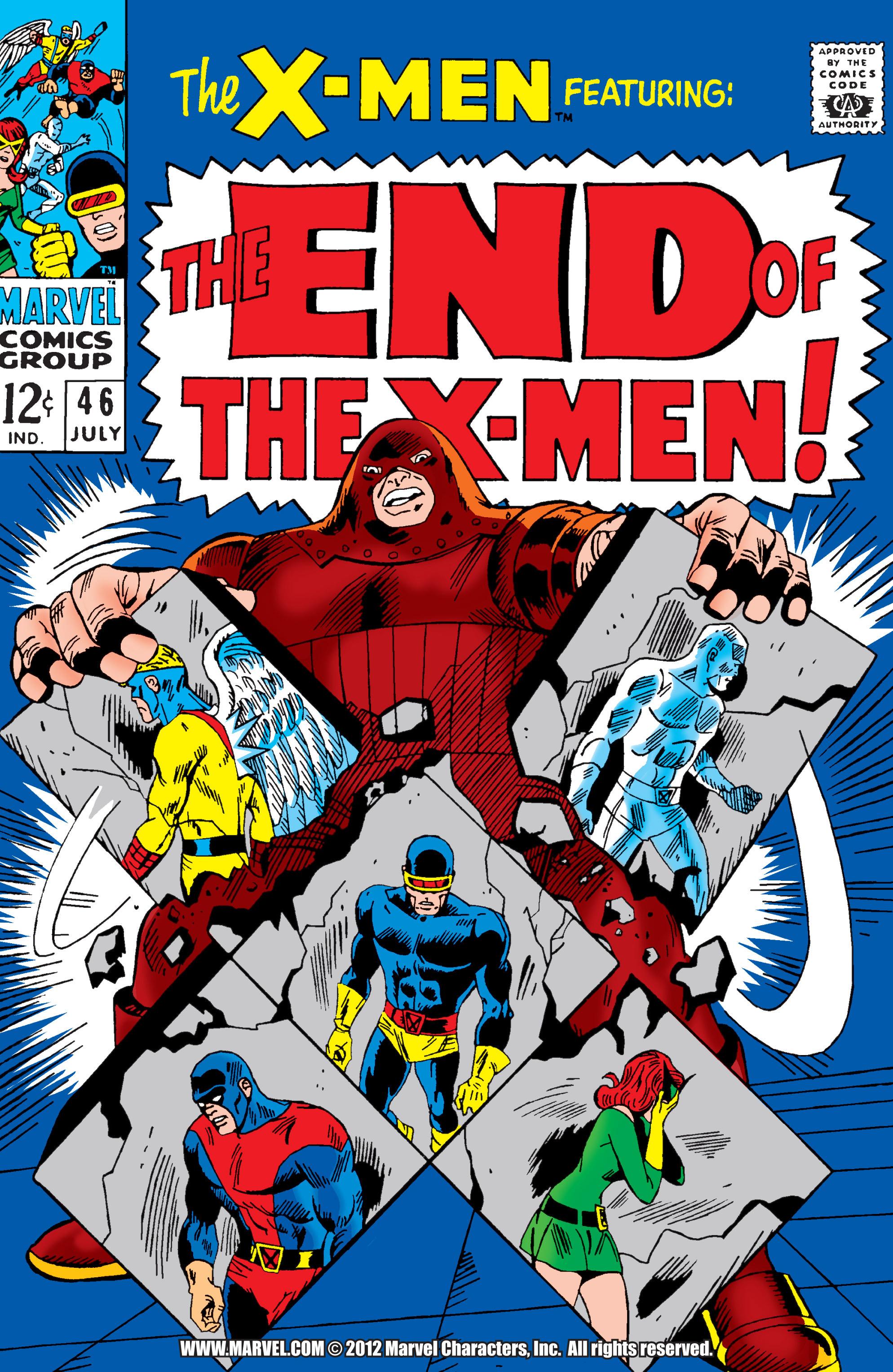 Uncanny X-Men (1963) 46 Page 0