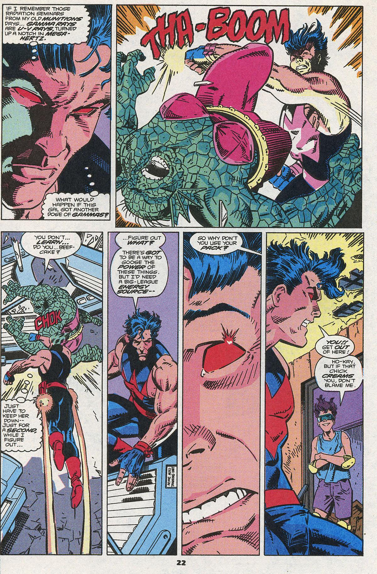 Read online Wonder Man (1991) comic -  Issue #3 - 17