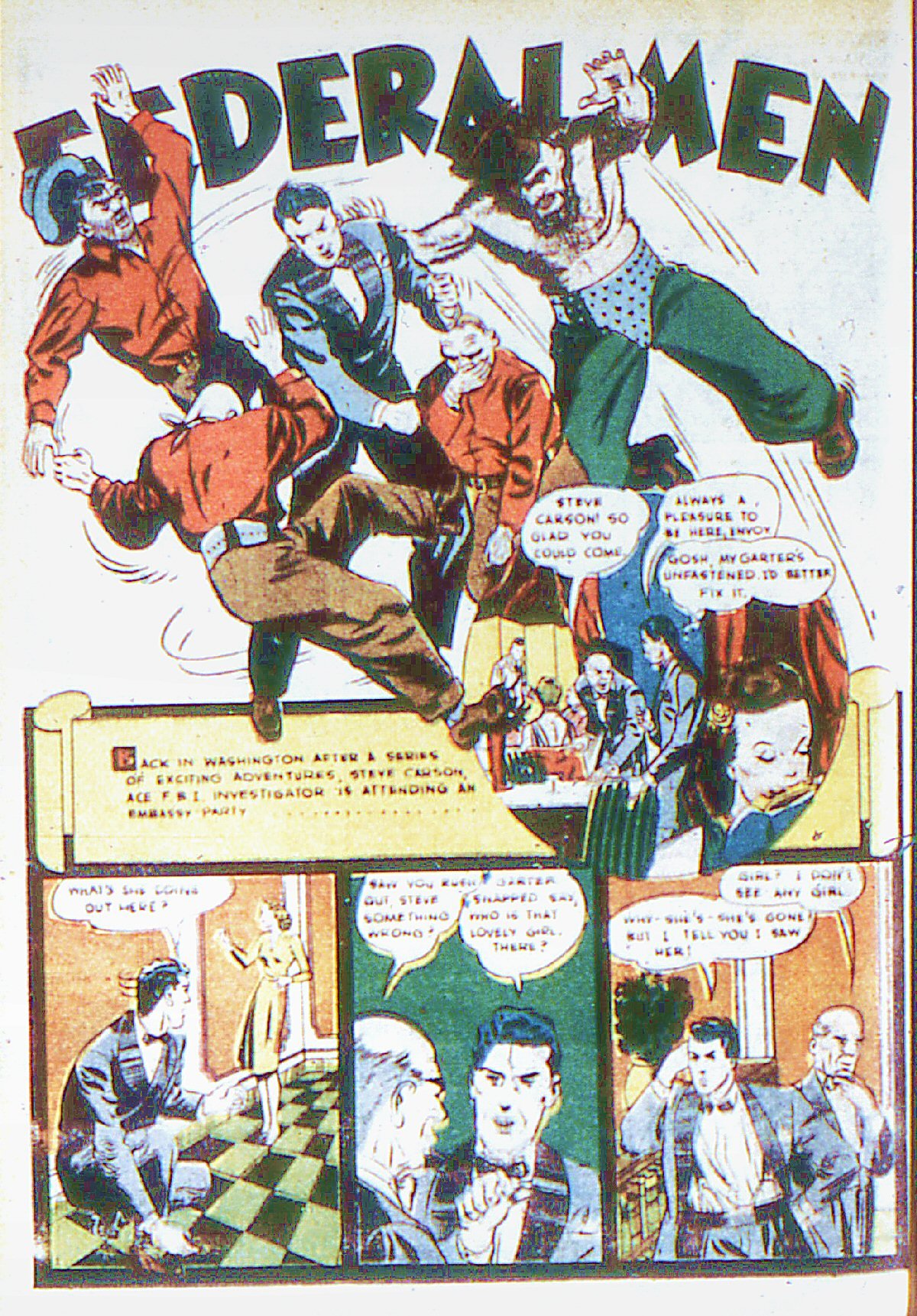 Read online Adventure Comics (1938) comic -  Issue #66 - 47