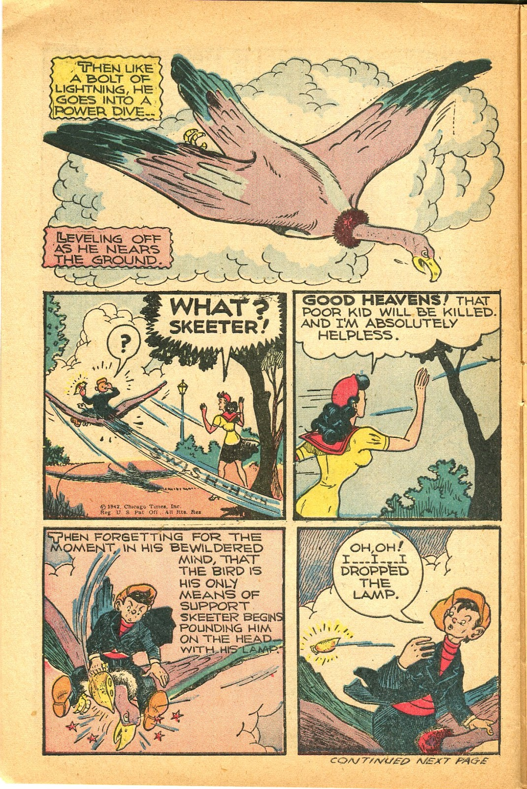 Read online Famous Funnies comic -  Issue #119 - 12
