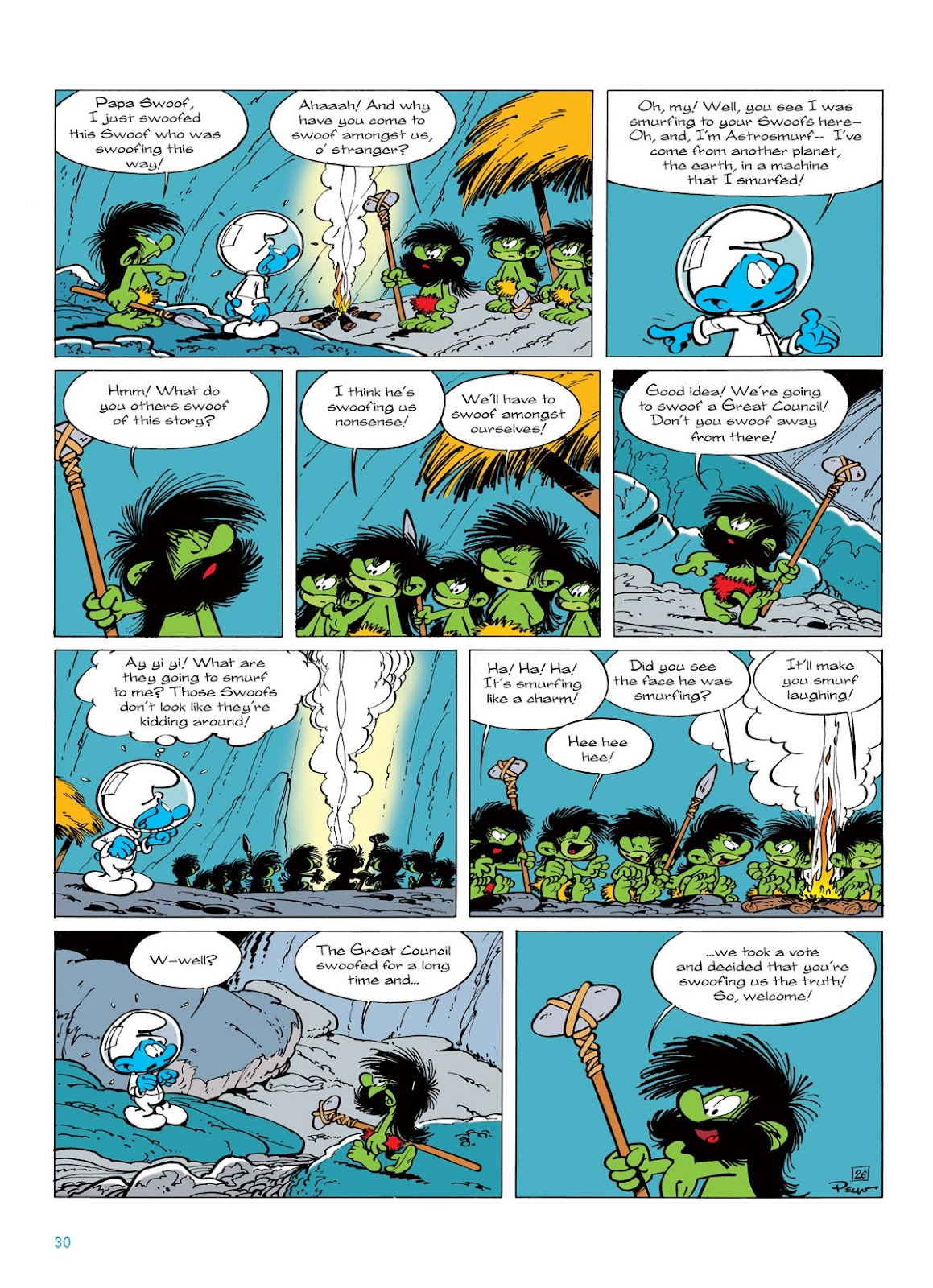 Read online The Smurfs comic -  Issue #7 - 30