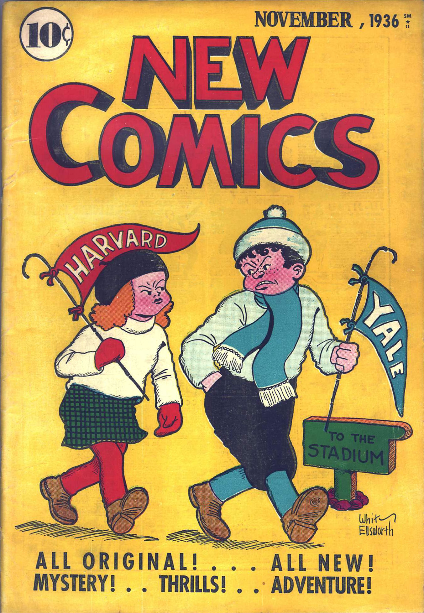Read online Adventure Comics (1938) comic -  Issue #10 - 2