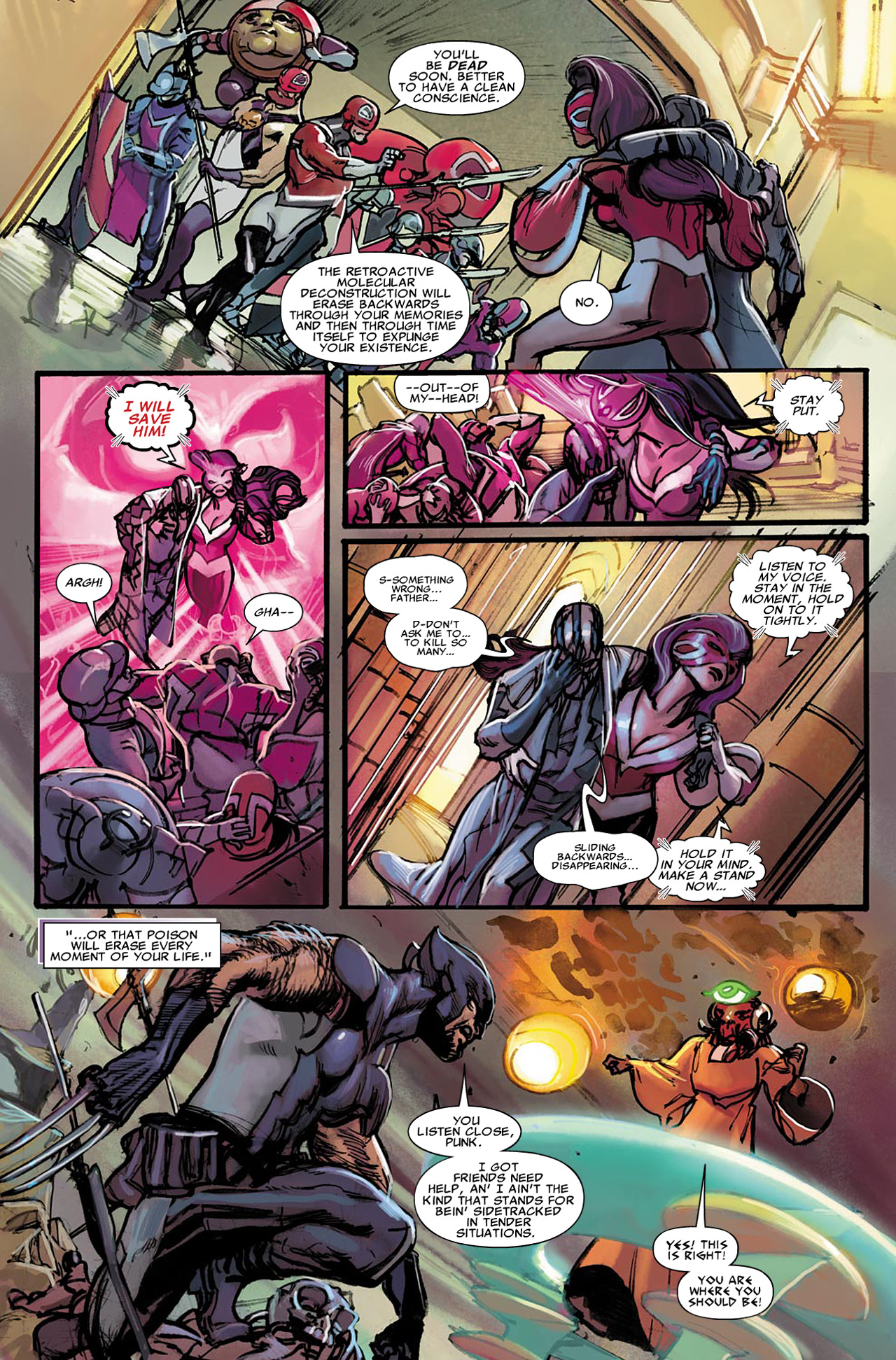 Read online Uncanny X-Force (2010) comic -  Issue #21 - 5
