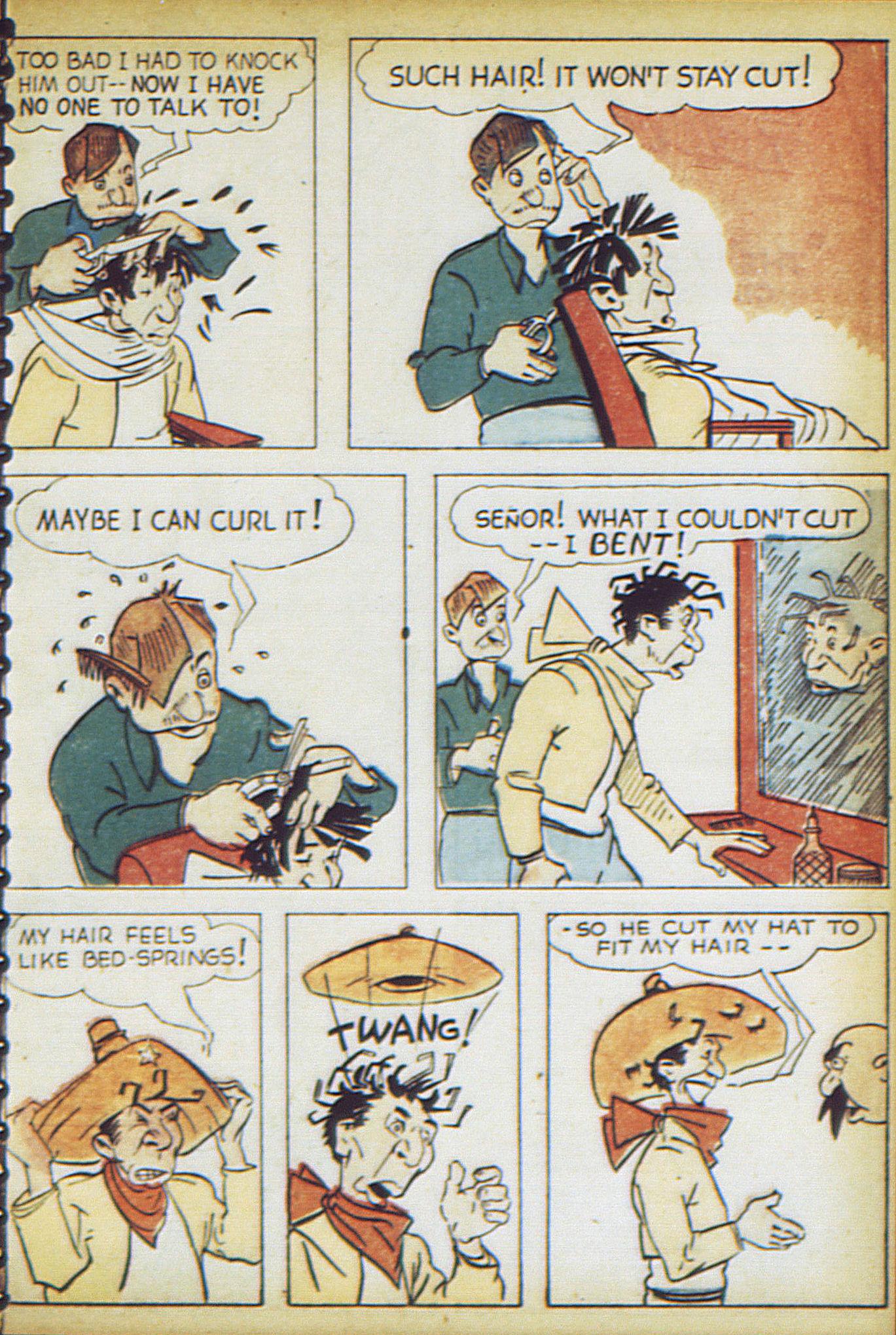 Read online Adventure Comics (1938) comic -  Issue #17 - 62