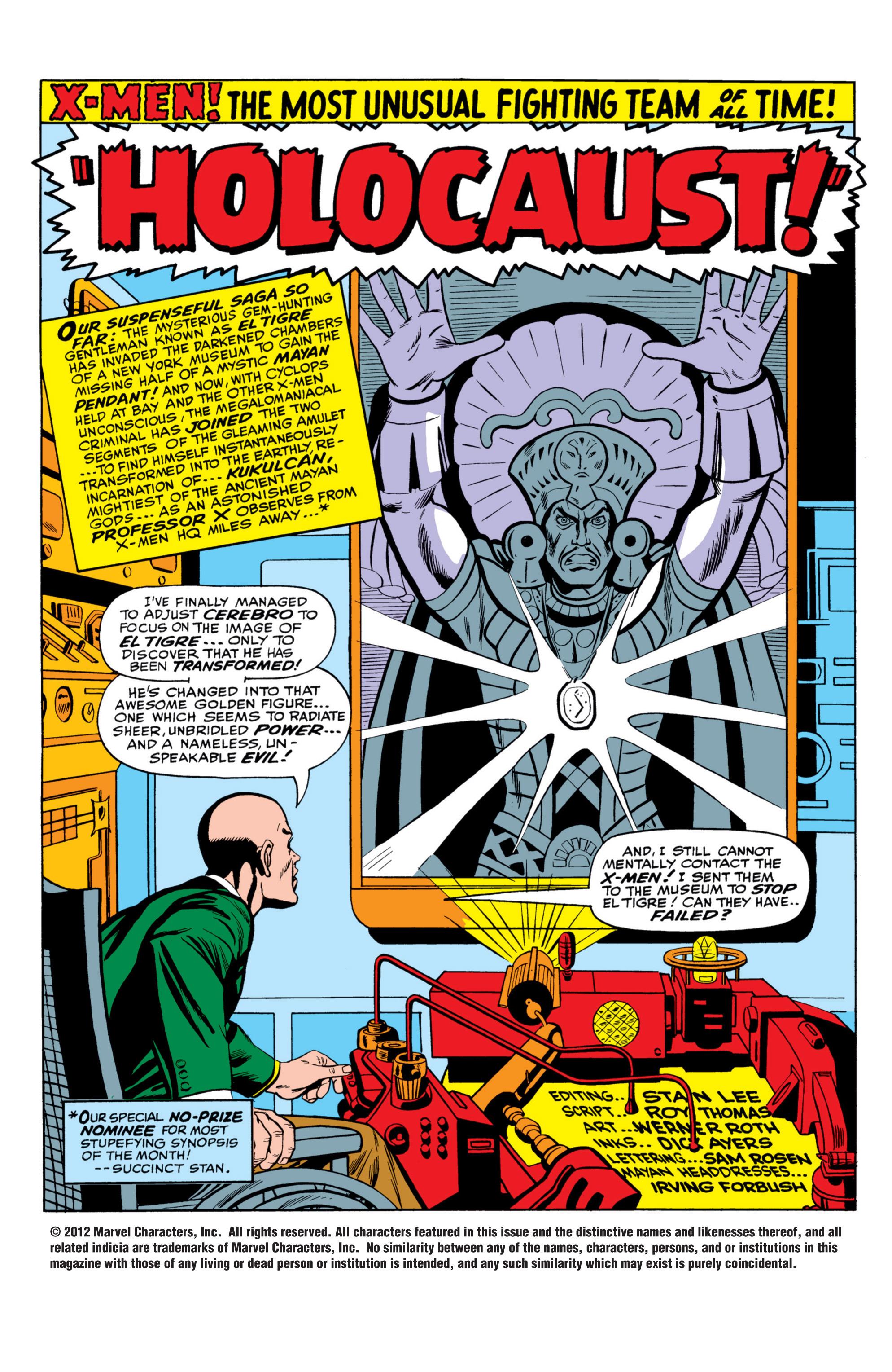 Read online Uncanny X-Men (1963) comic -  Issue #26 - 2