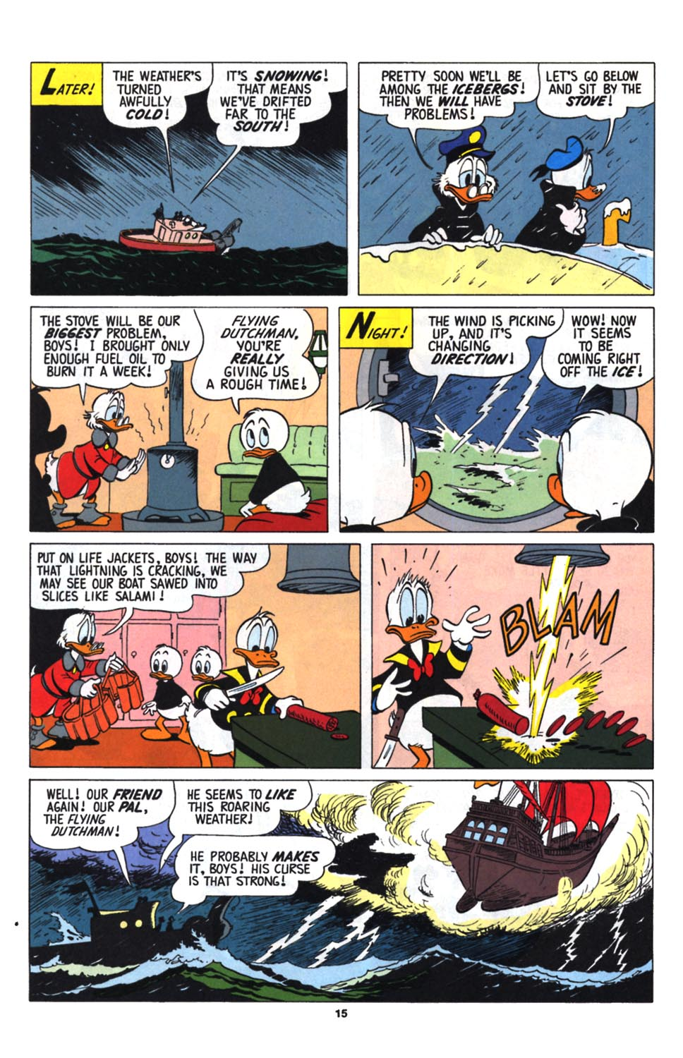 Read online Uncle Scrooge (1953) comic -  Issue #255 - 17