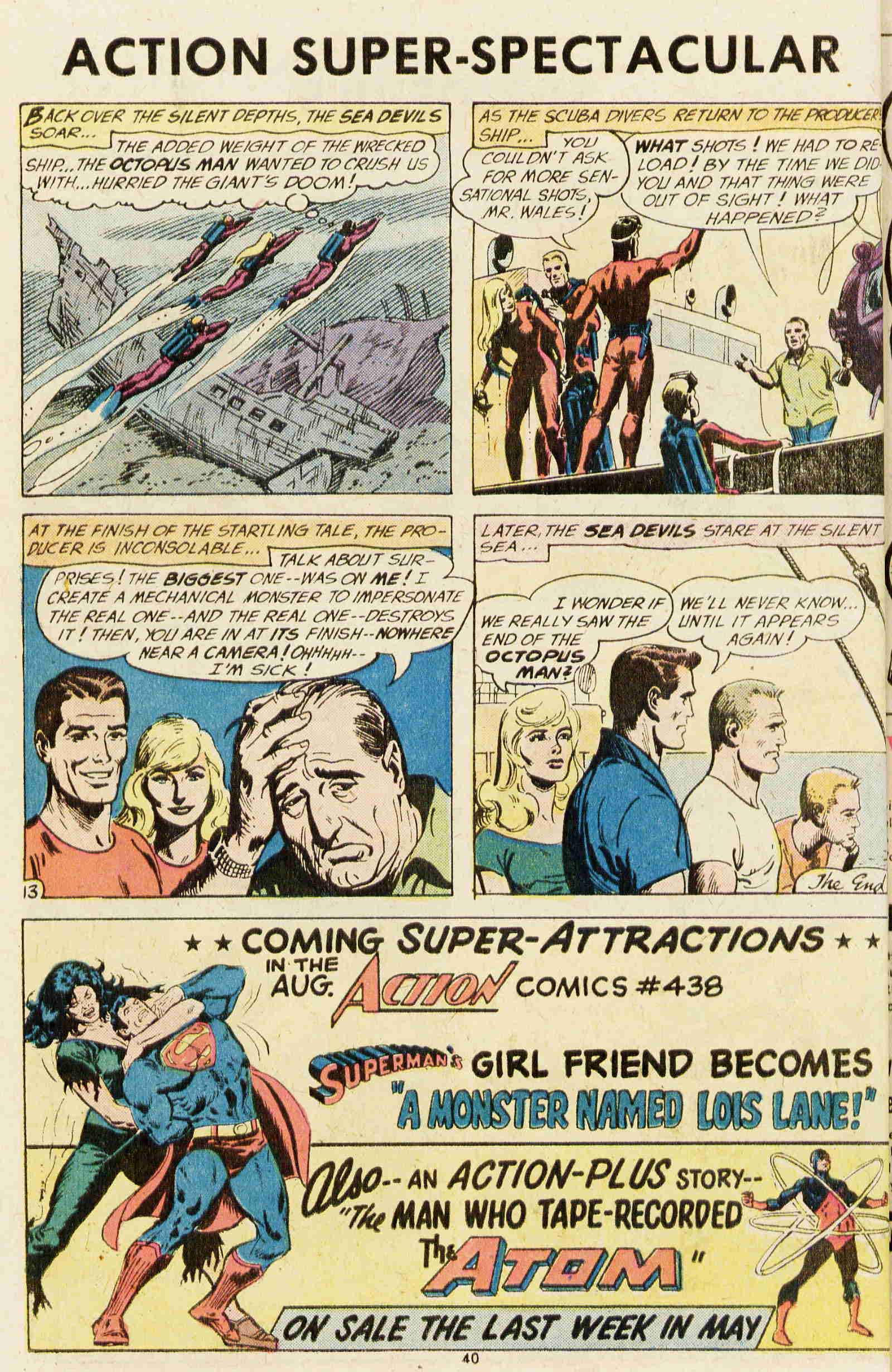 Read online Action Comics (1938) comic -  Issue #437 - 37