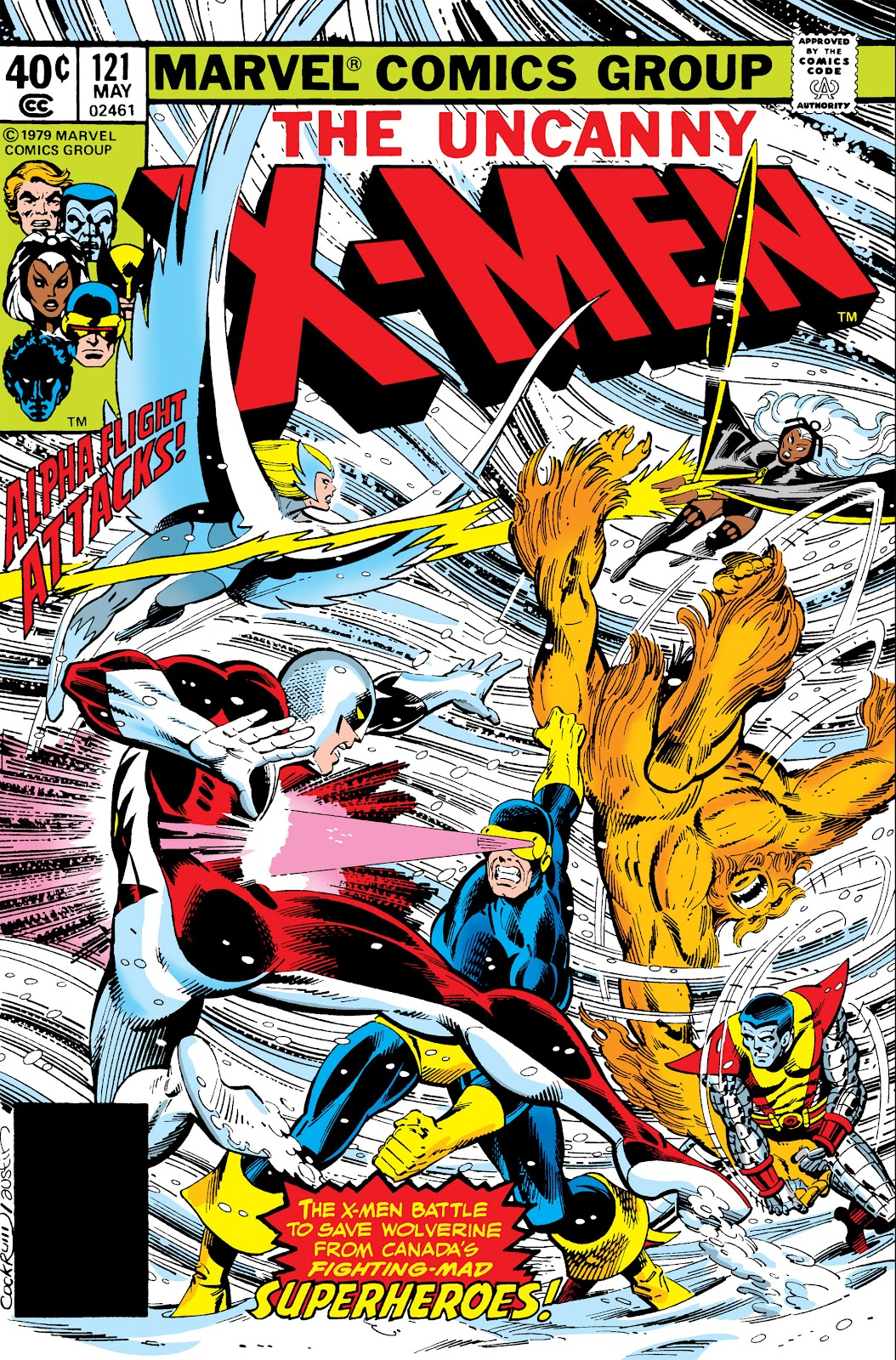 Uncanny X-Men (1963) issue 121 - Page 1