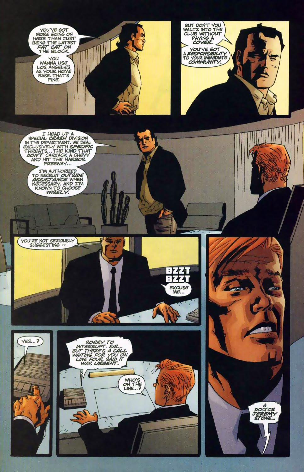 Wildcats (1999) Issue #17 #18 - English 4